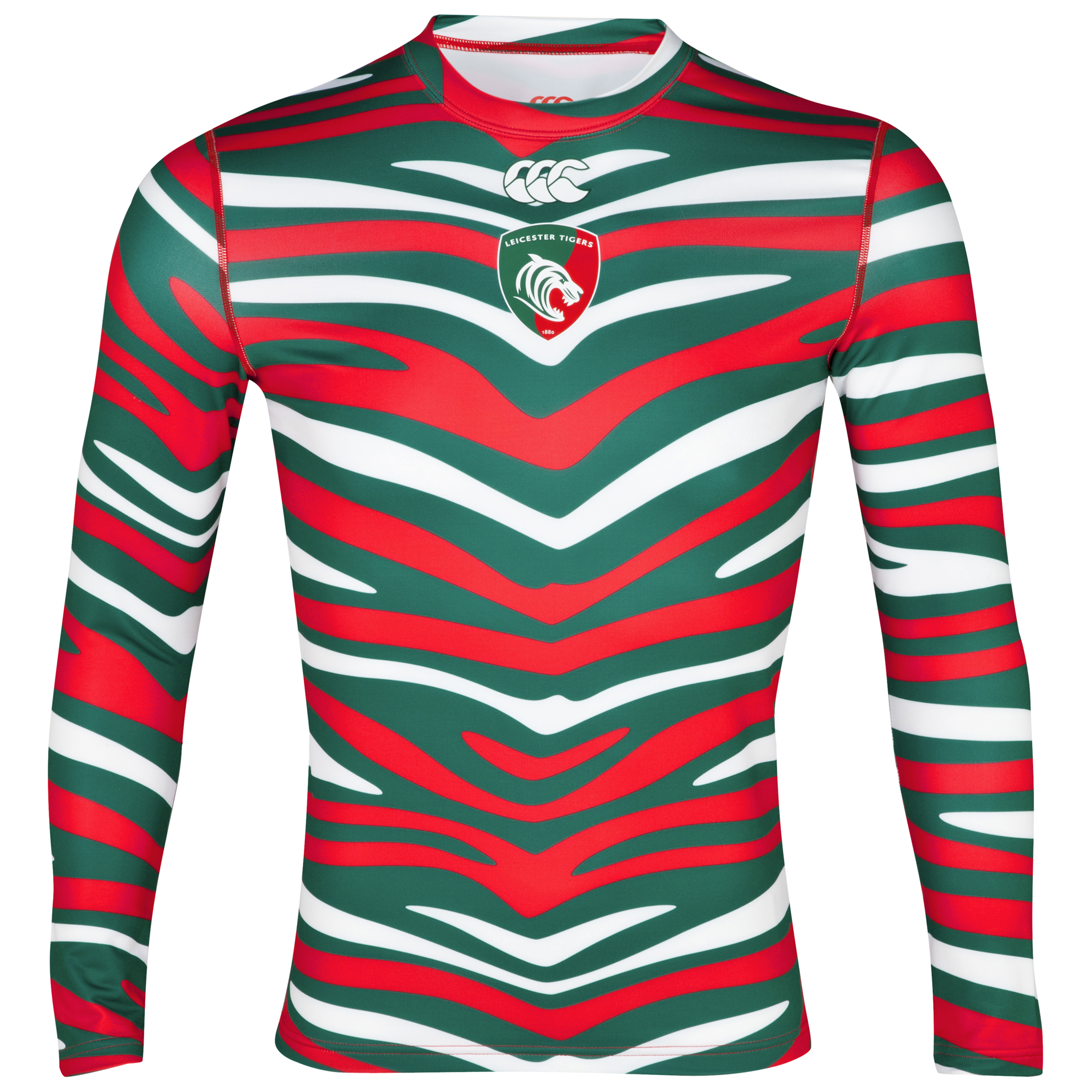 Leicester Tigers Home Supporters Cold Baselayer 2012/13 -  Long Sleeved - Junior