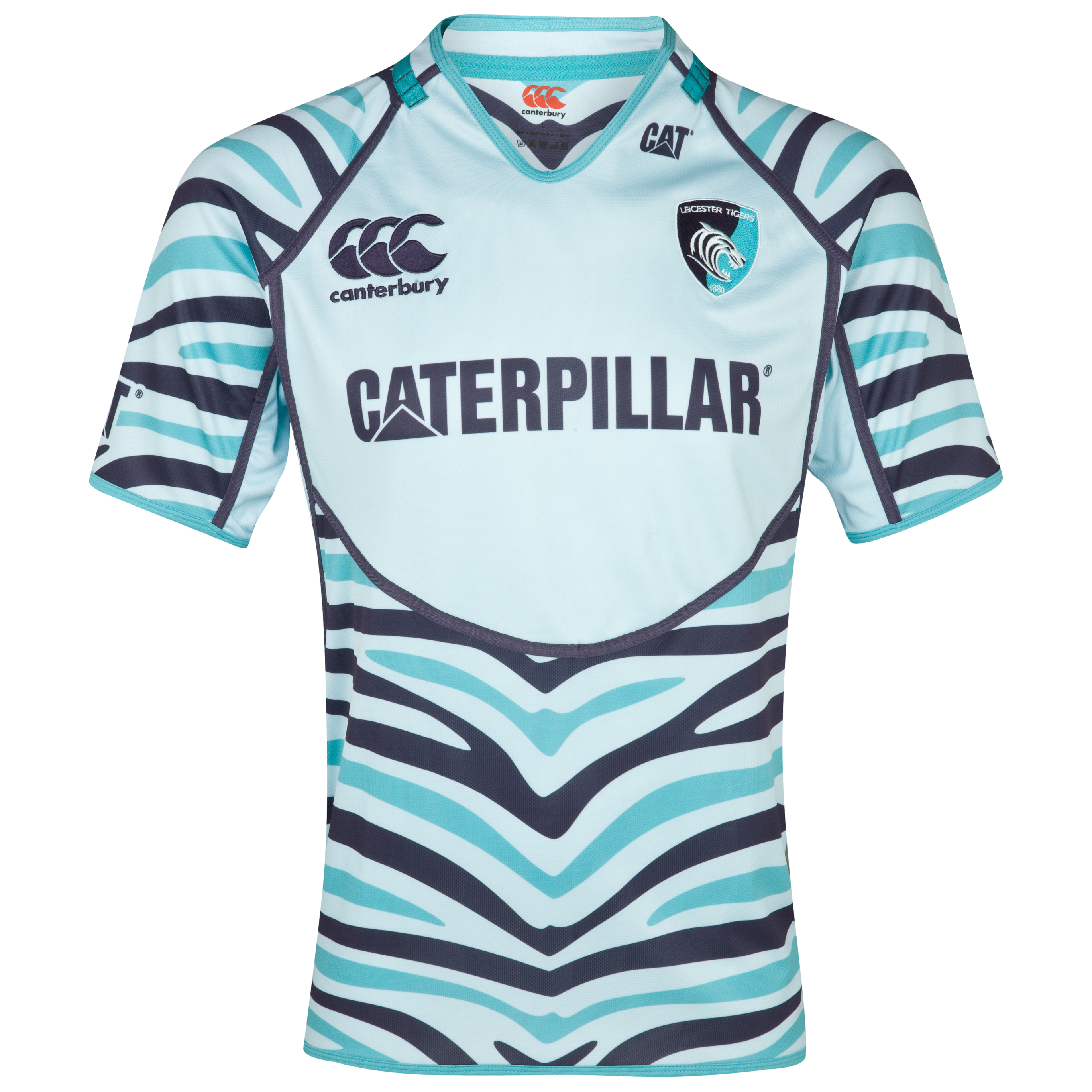 Leicester Tigers Alternate Pro Jersey 2012/13 - Junior