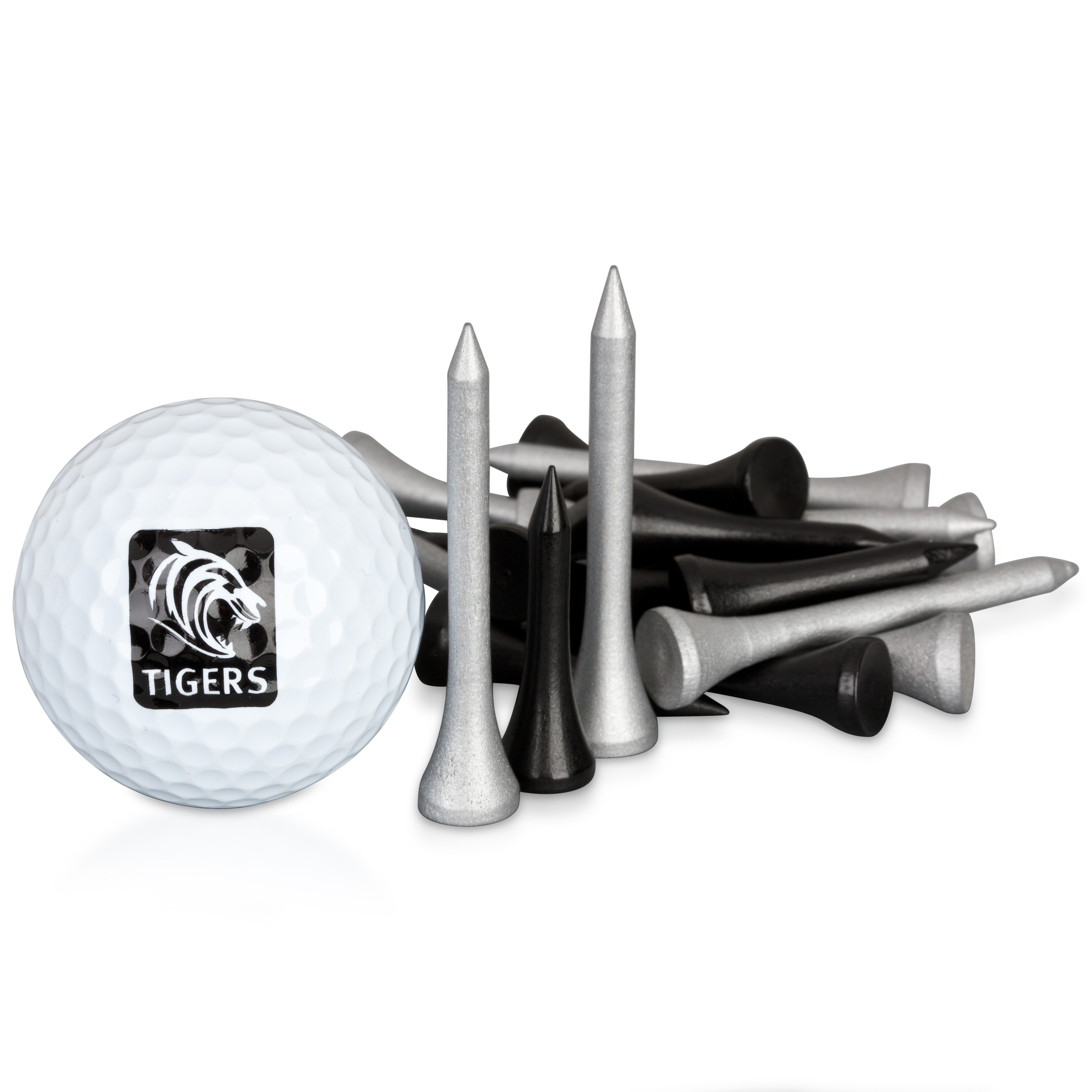 Leicester Tigers Executive Golf Gift Ball and Tee Set