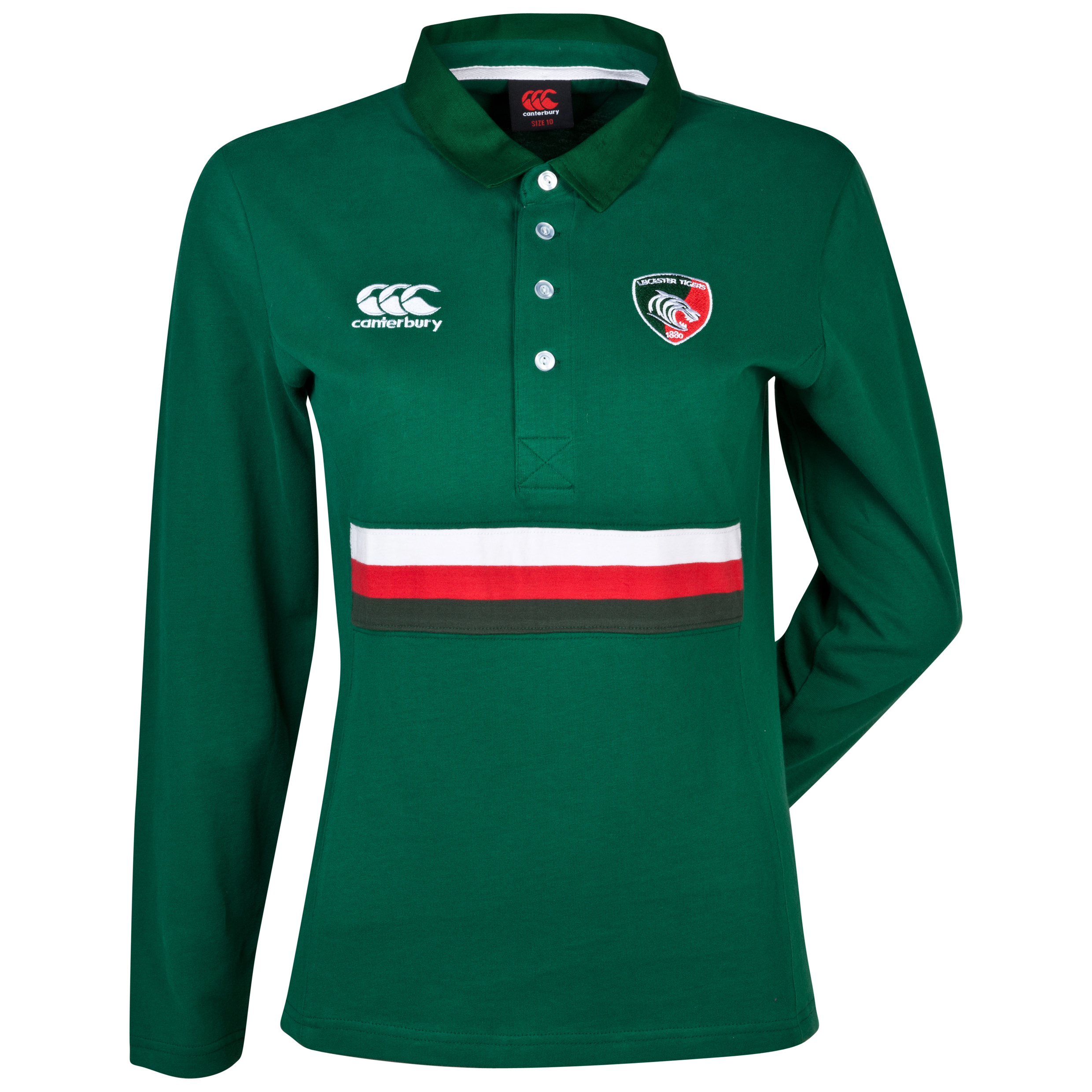 Leicester Tigers Classic Jersey - Long Sleeved - Womens