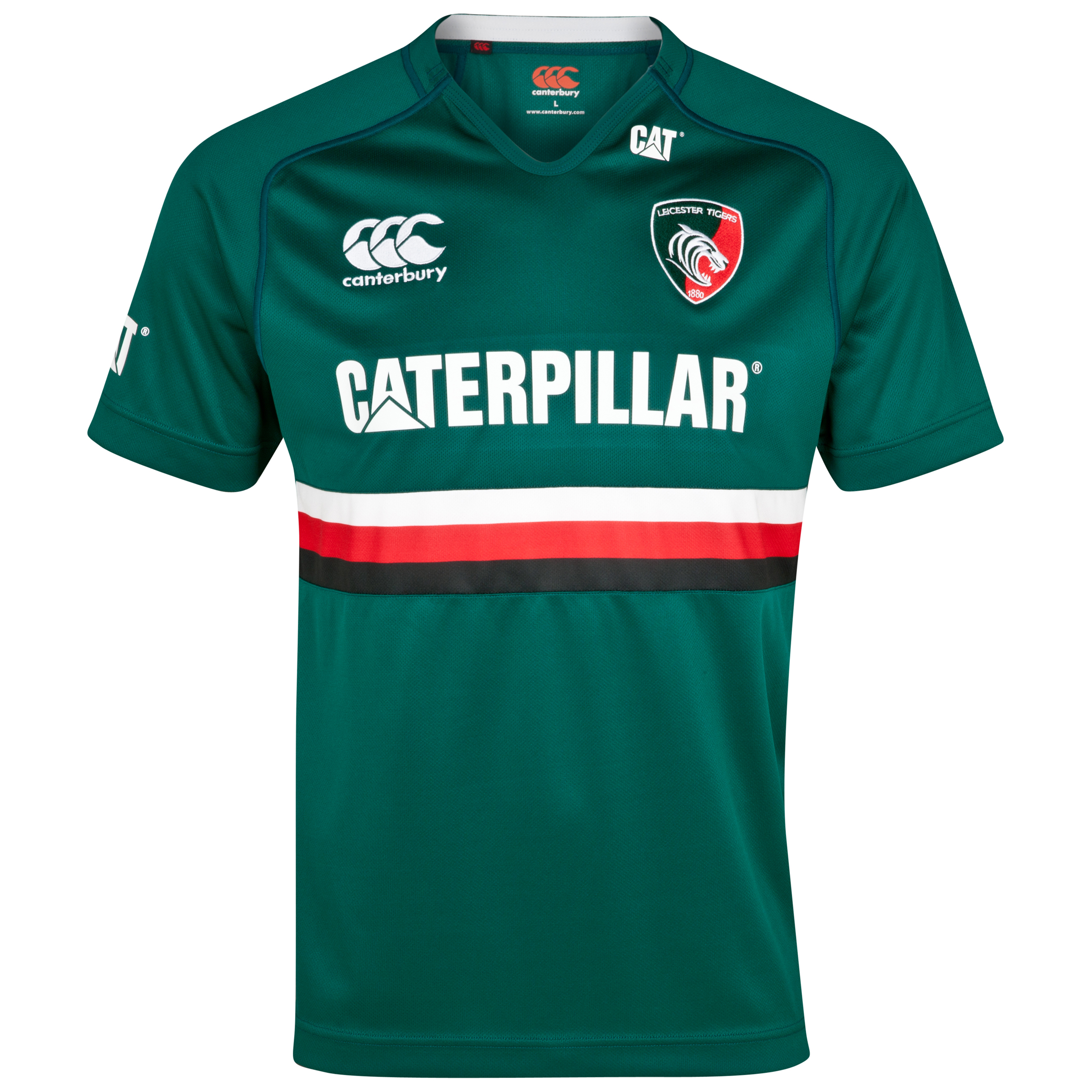 Leicester Tigers Home Pro Jersey 2013/14 - Junior