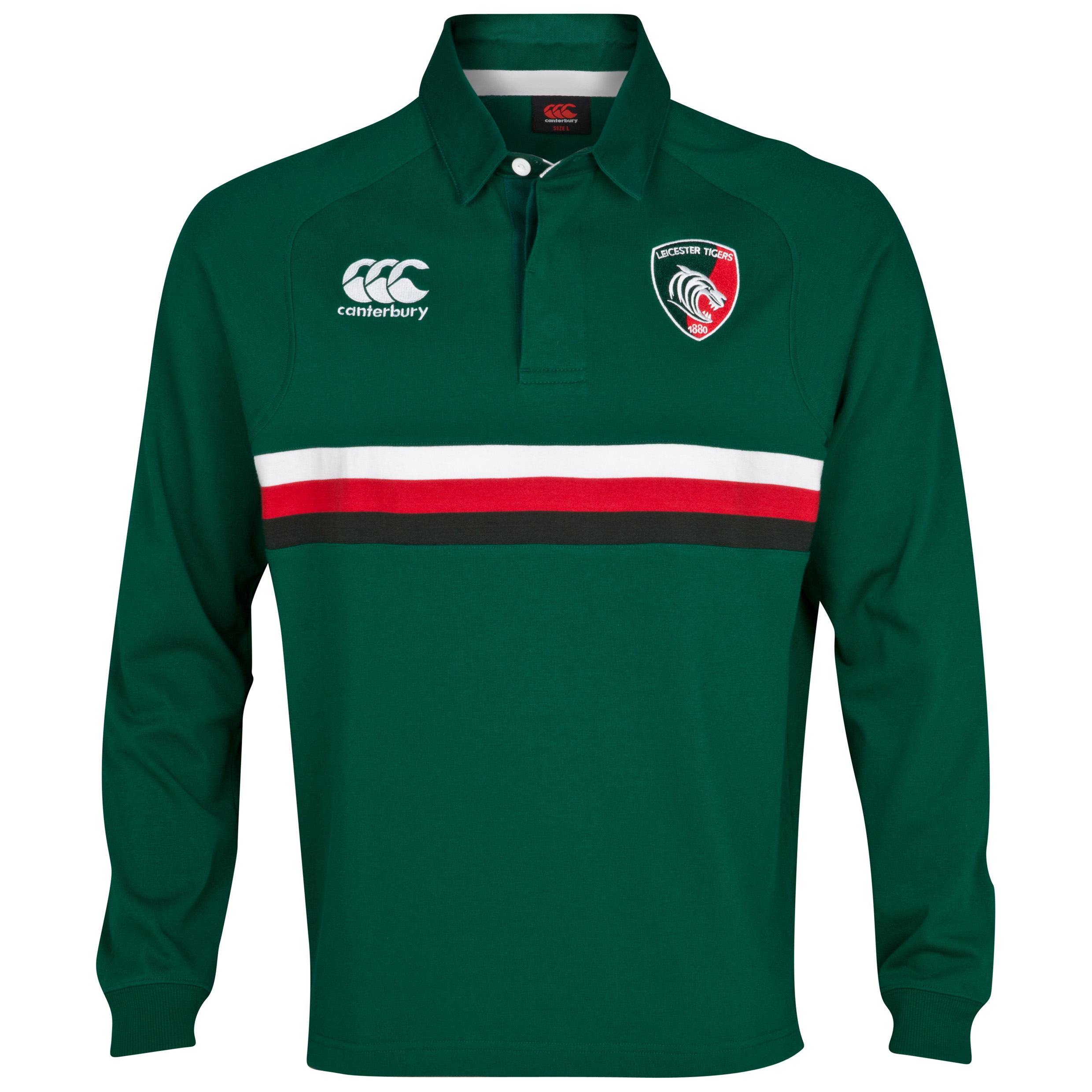 Leicester Tigers Classic Jersey- Long Sleeved - Junior