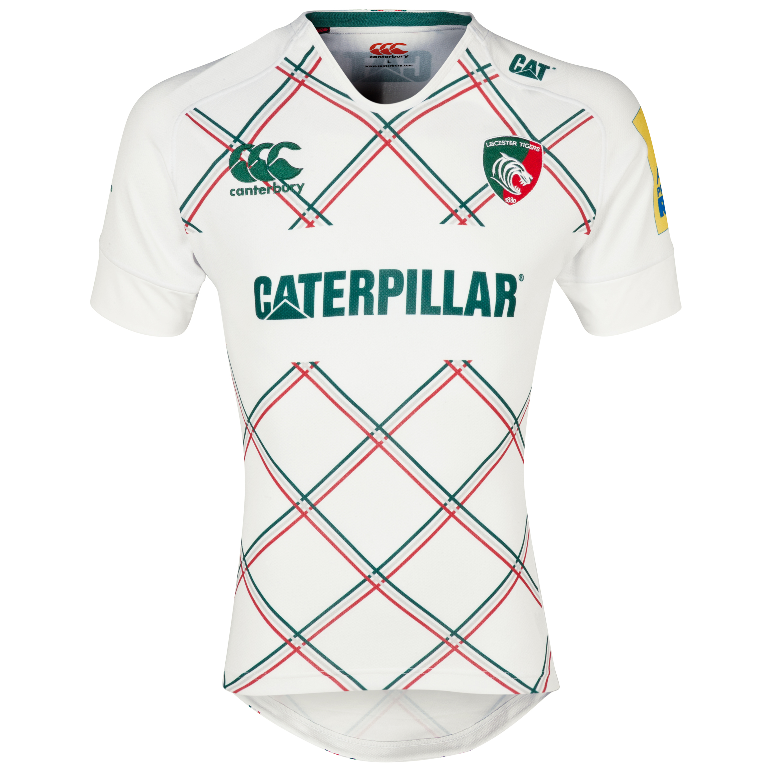 Leicester Tigers Alternate Test Jersey 2013/14