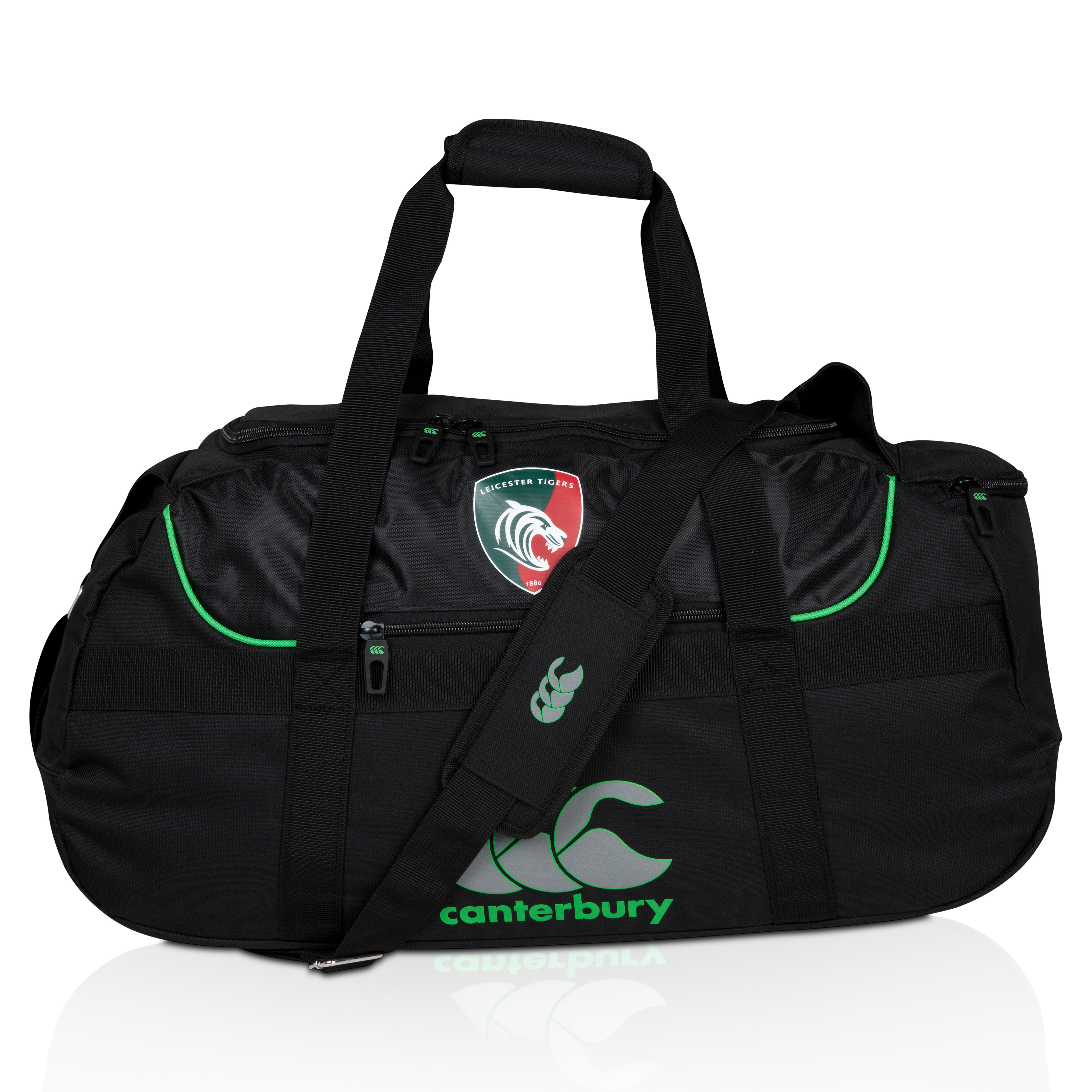 Leicester Tigers Medium Sportsbag Black