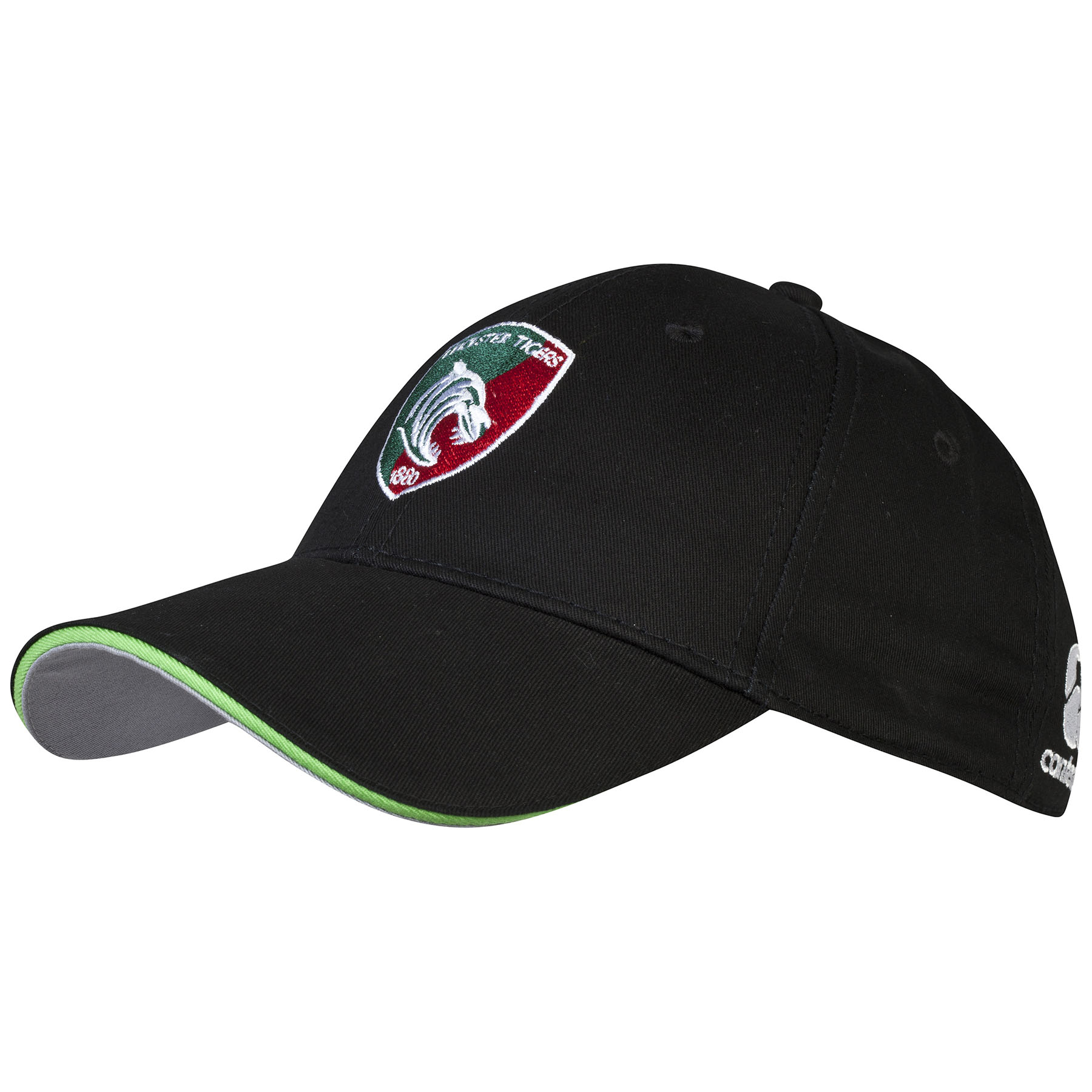 Leicester Tigers Cotton Drill Graphic Cap - fitted Black