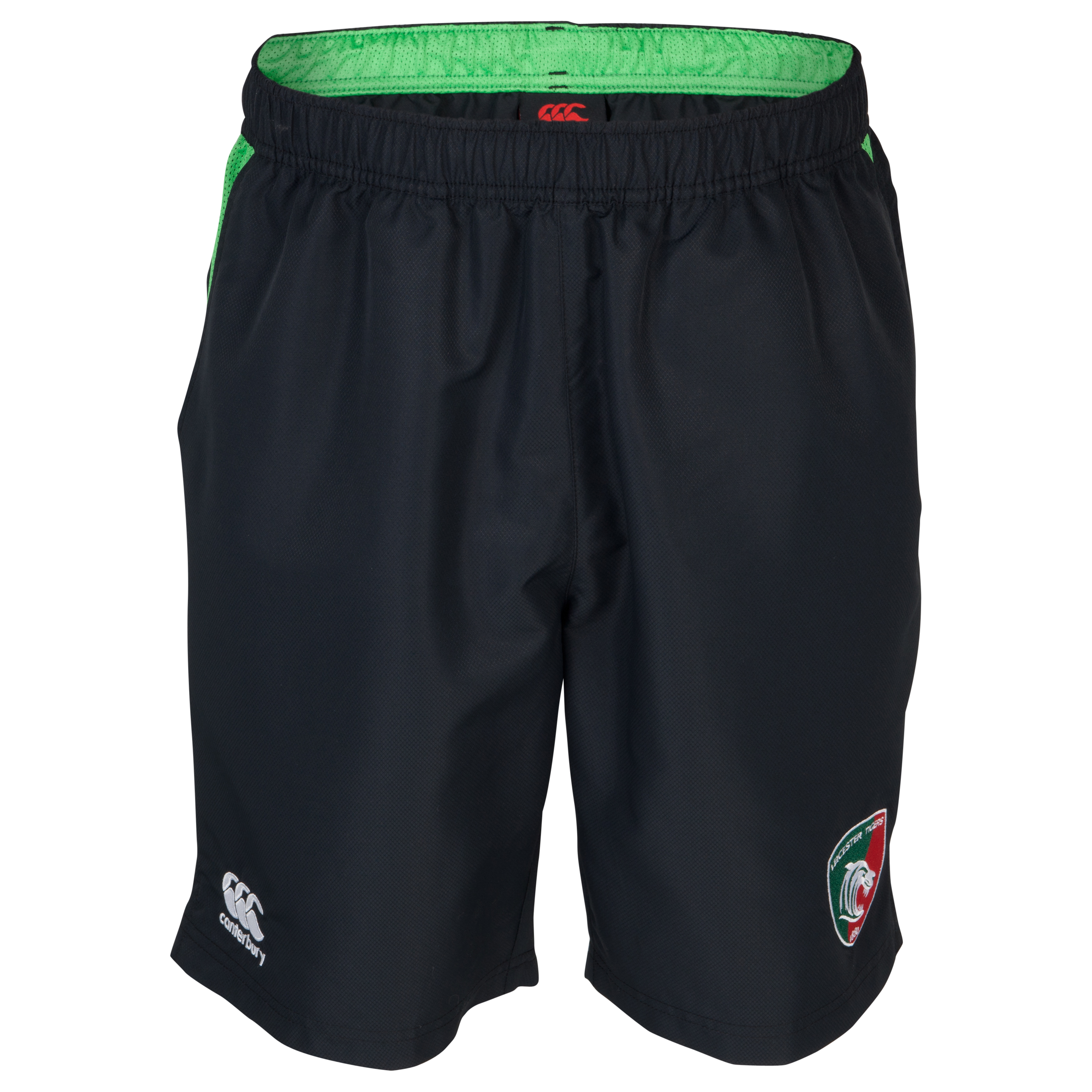 Leicester Tigers Lined Gym short Grey