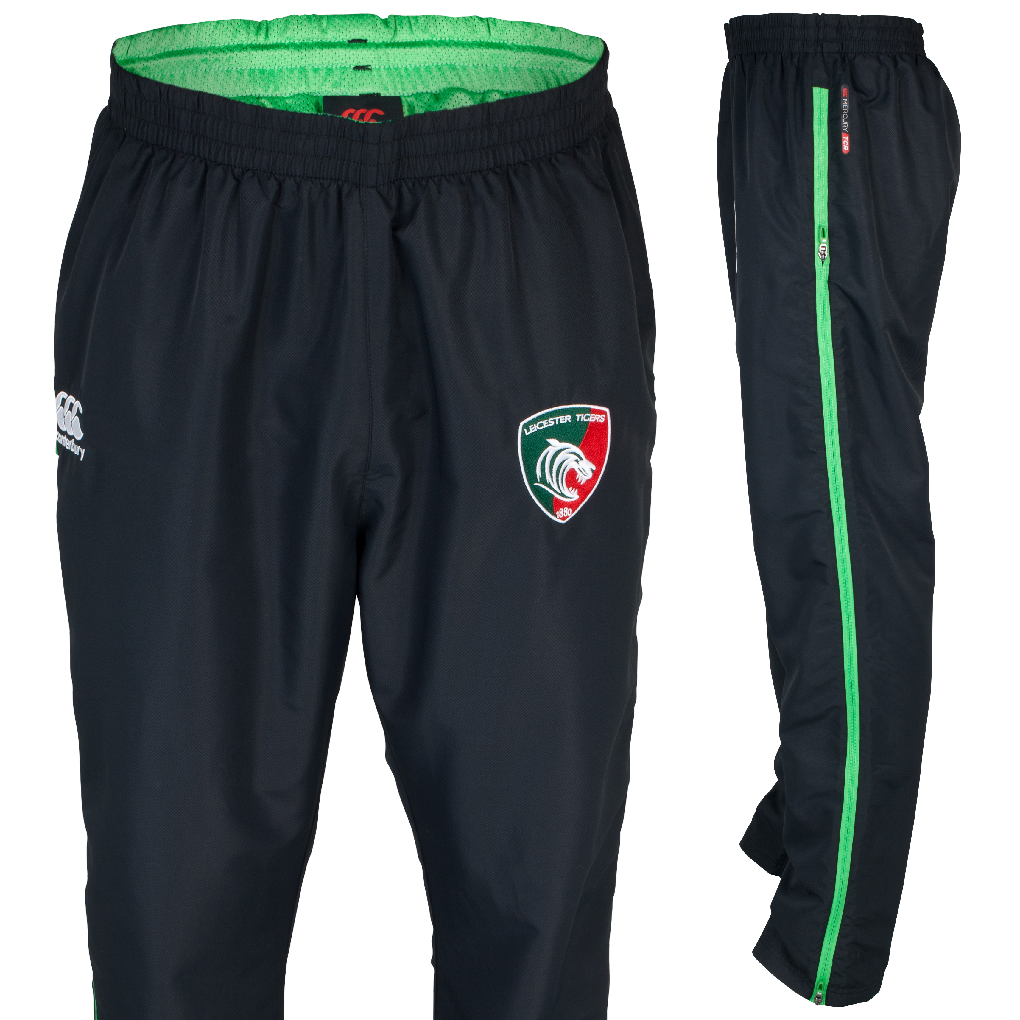 Leicester Tigers Mercury Pro Tech Presentation Pant - Junior Grey