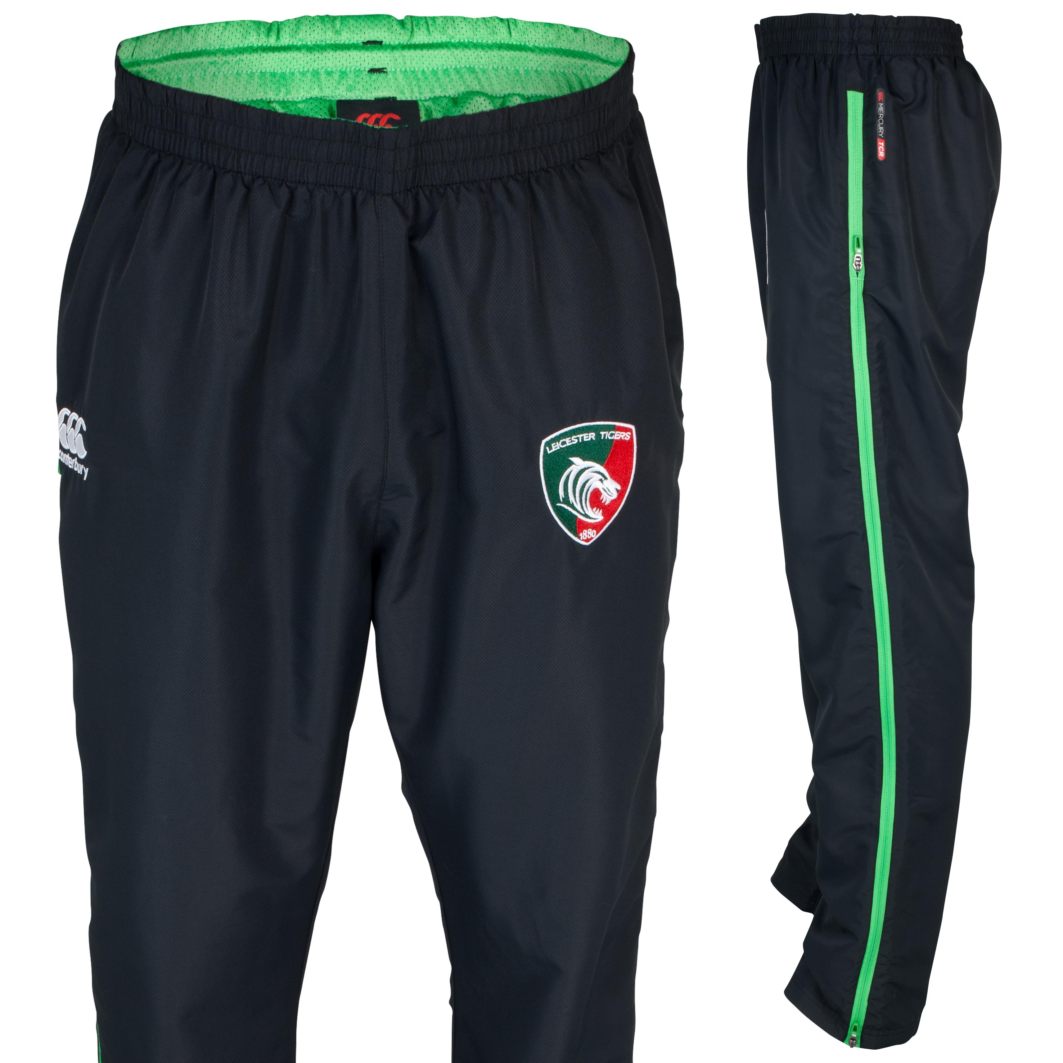 Leicester Tigers Mercury Pro Tech Presentation Pant - Junior Grey