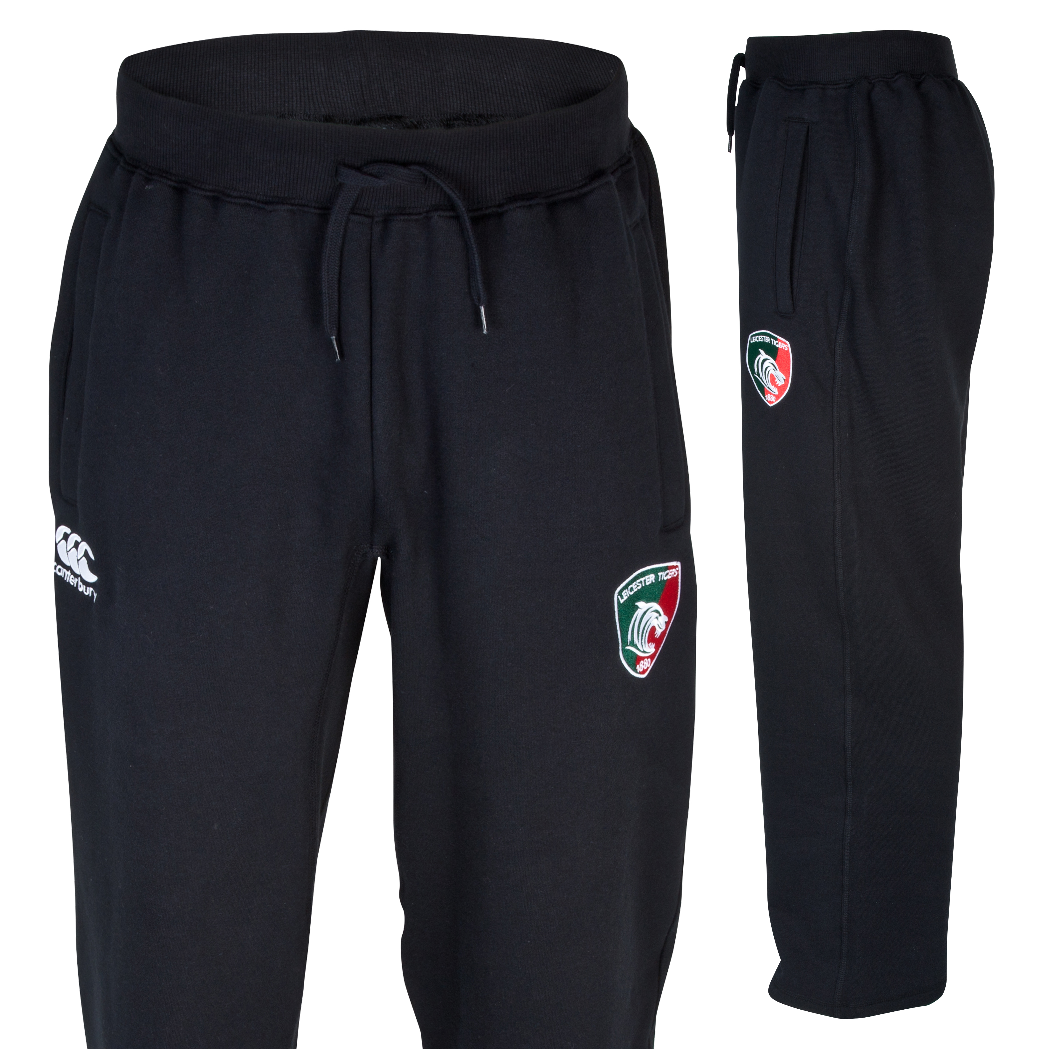Leicester Tigers Combination Fleece Pant - Junior Grey