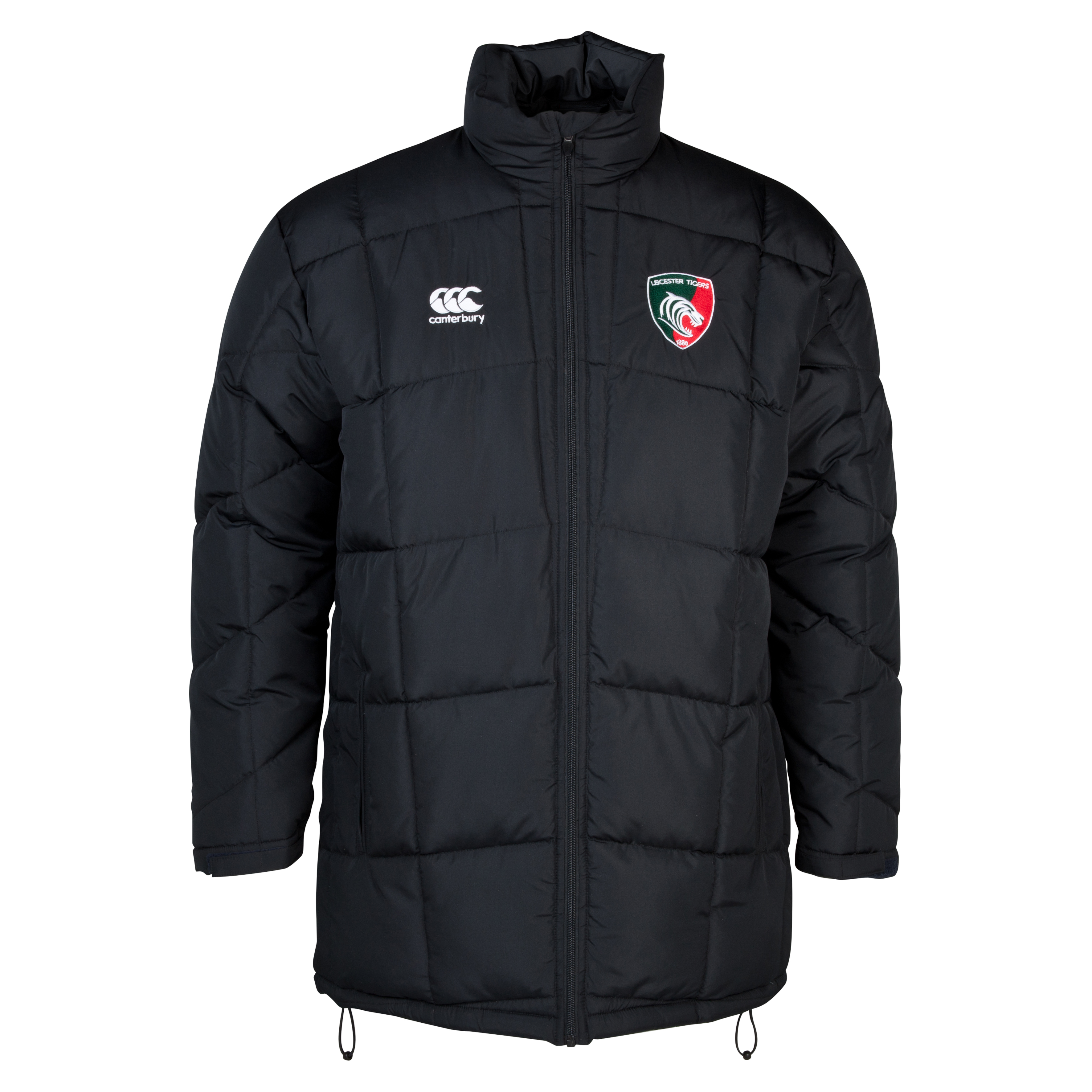 Leicester Tigers PUFFA Jacket Grey