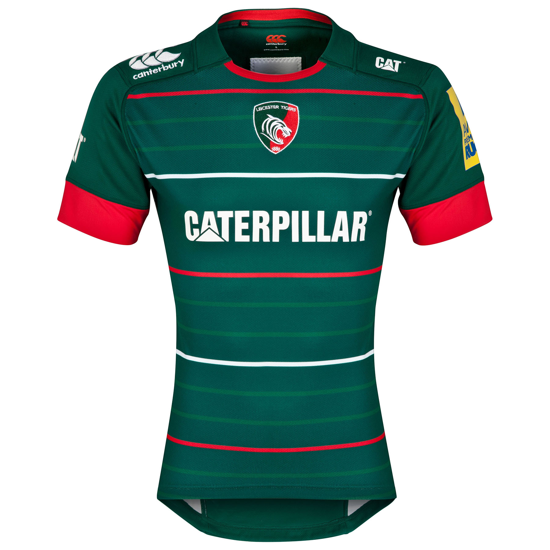 Leicester Tigers Home Test Jersey 2014/15