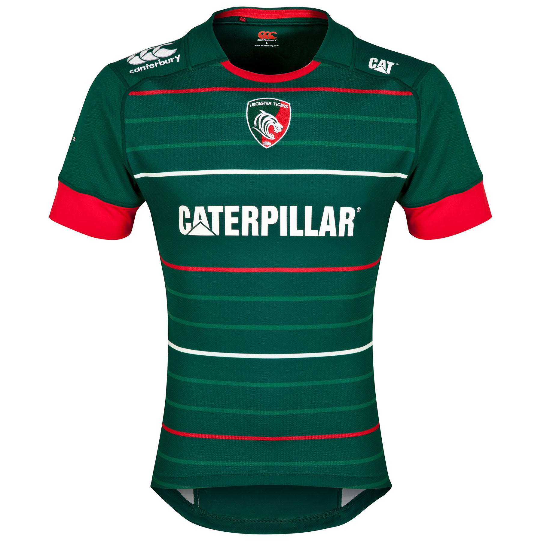 Leicester Tigers Home Pro Jersey 2014/15