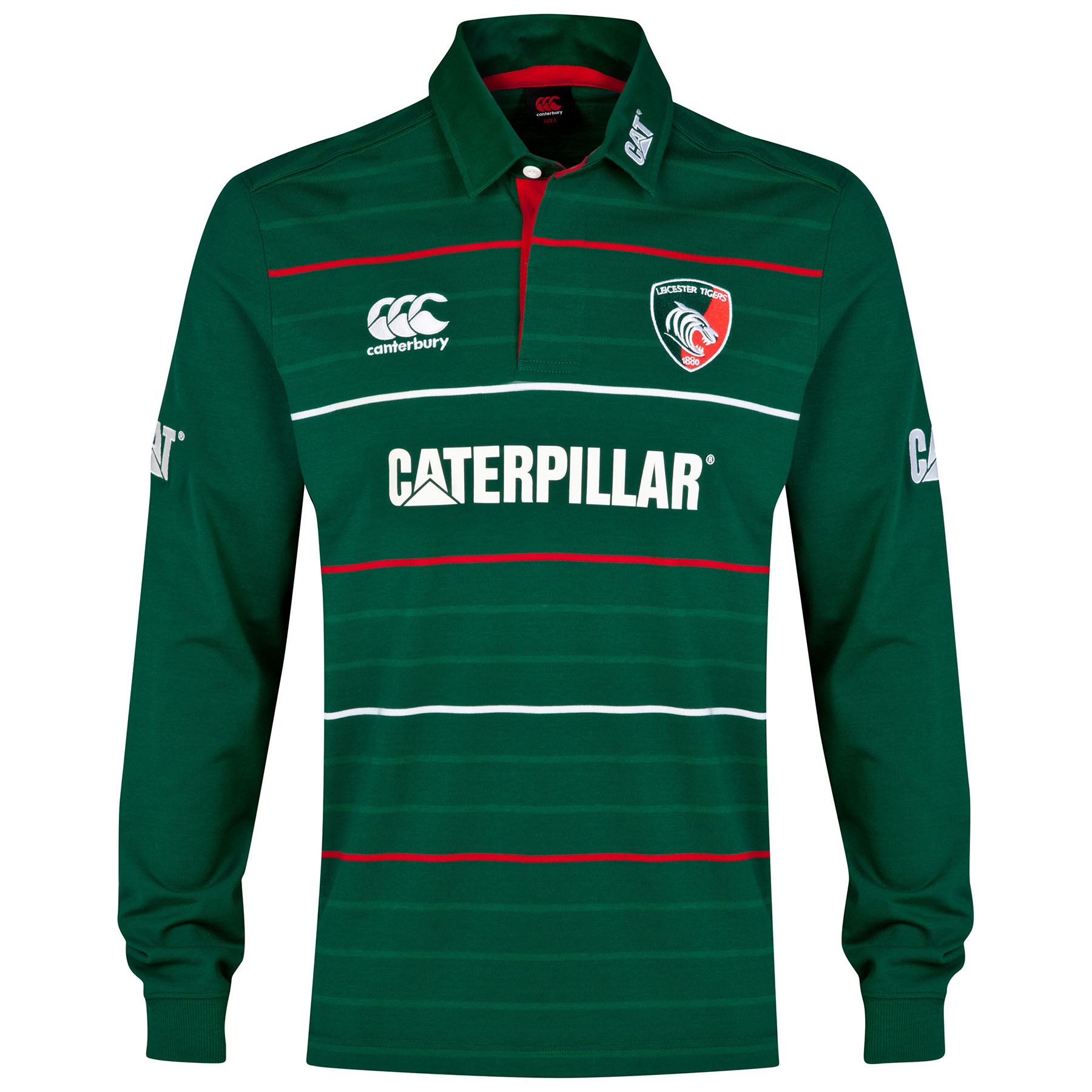 Leicester Tigers Home Classic Jersey 2014/15 Long Sleeve- Junior