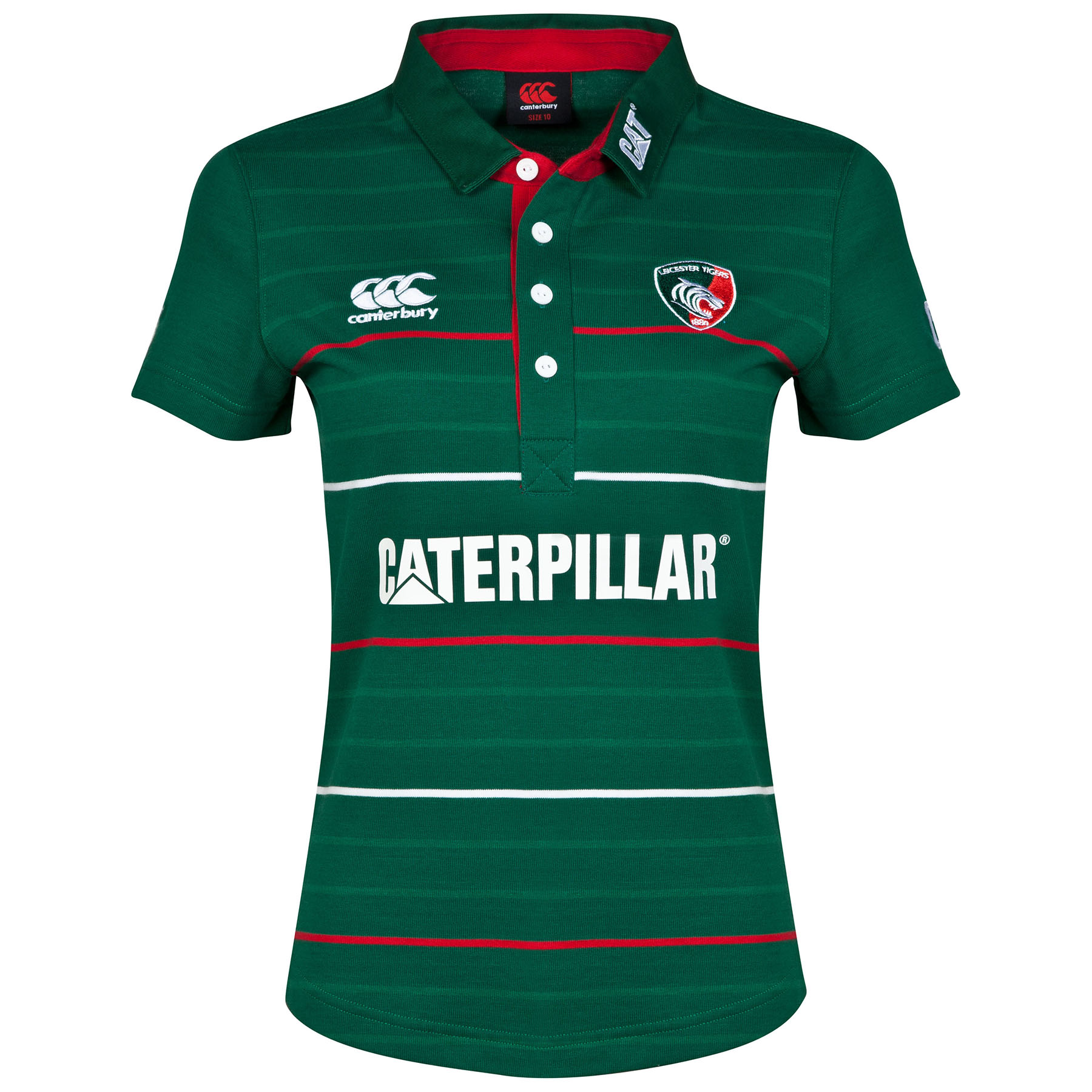Leicester Tigers Home Classic Jersey 2014/15 - Womens