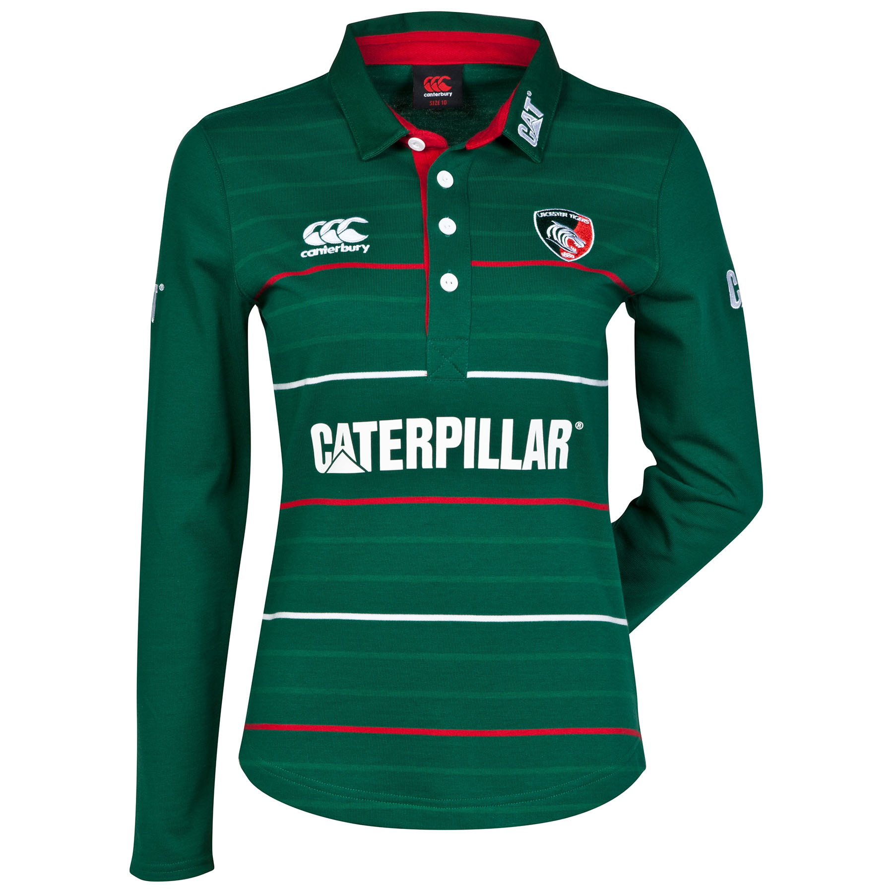 Leicester Tigers Home Classic Jersey 2014/15 Long Sleeved- Womens
