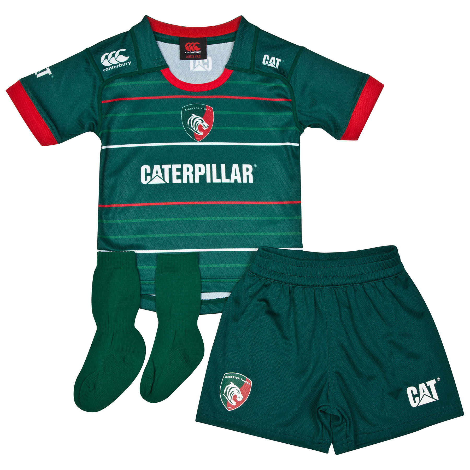 Leicester Tigers Home Infant Kit 2014/15