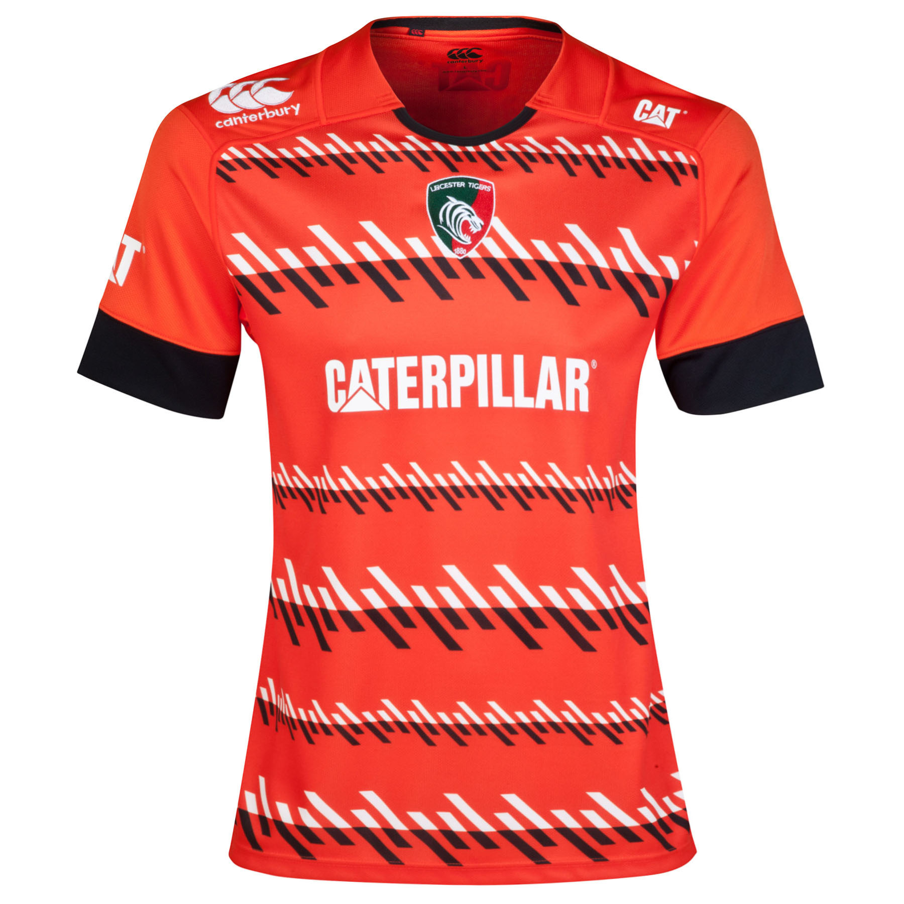 Leicester Tigers Alternate Pro Jersey 2014/15 - Womens Orange
