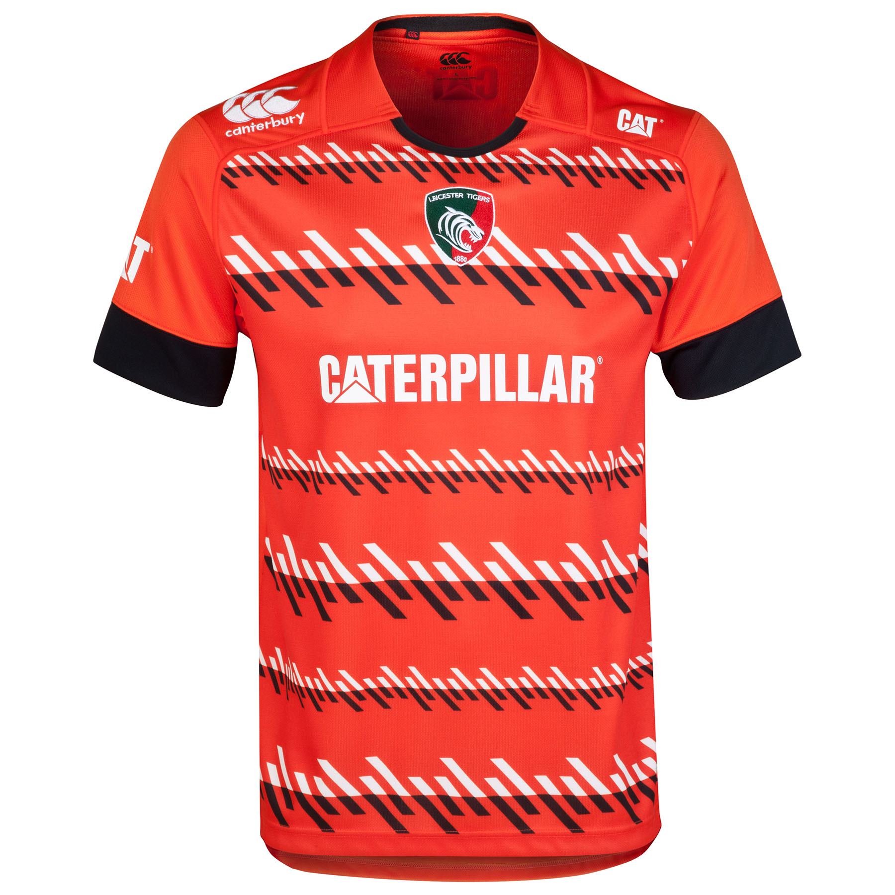 Leicester Tigers Alternate Pro Jersey 2014/15 - Kids Orange