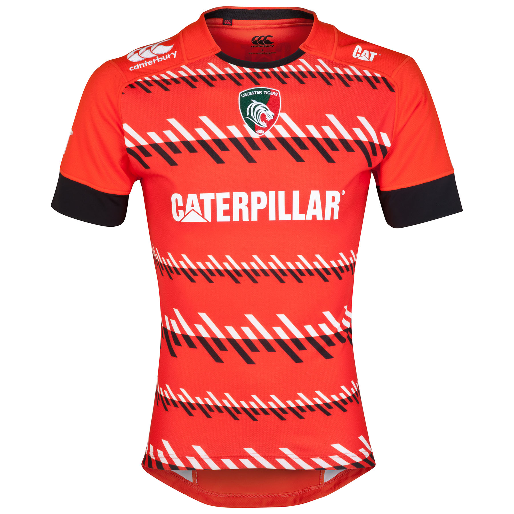 Leicester Tigers Alternate Test Jersey 2014/15 Orange