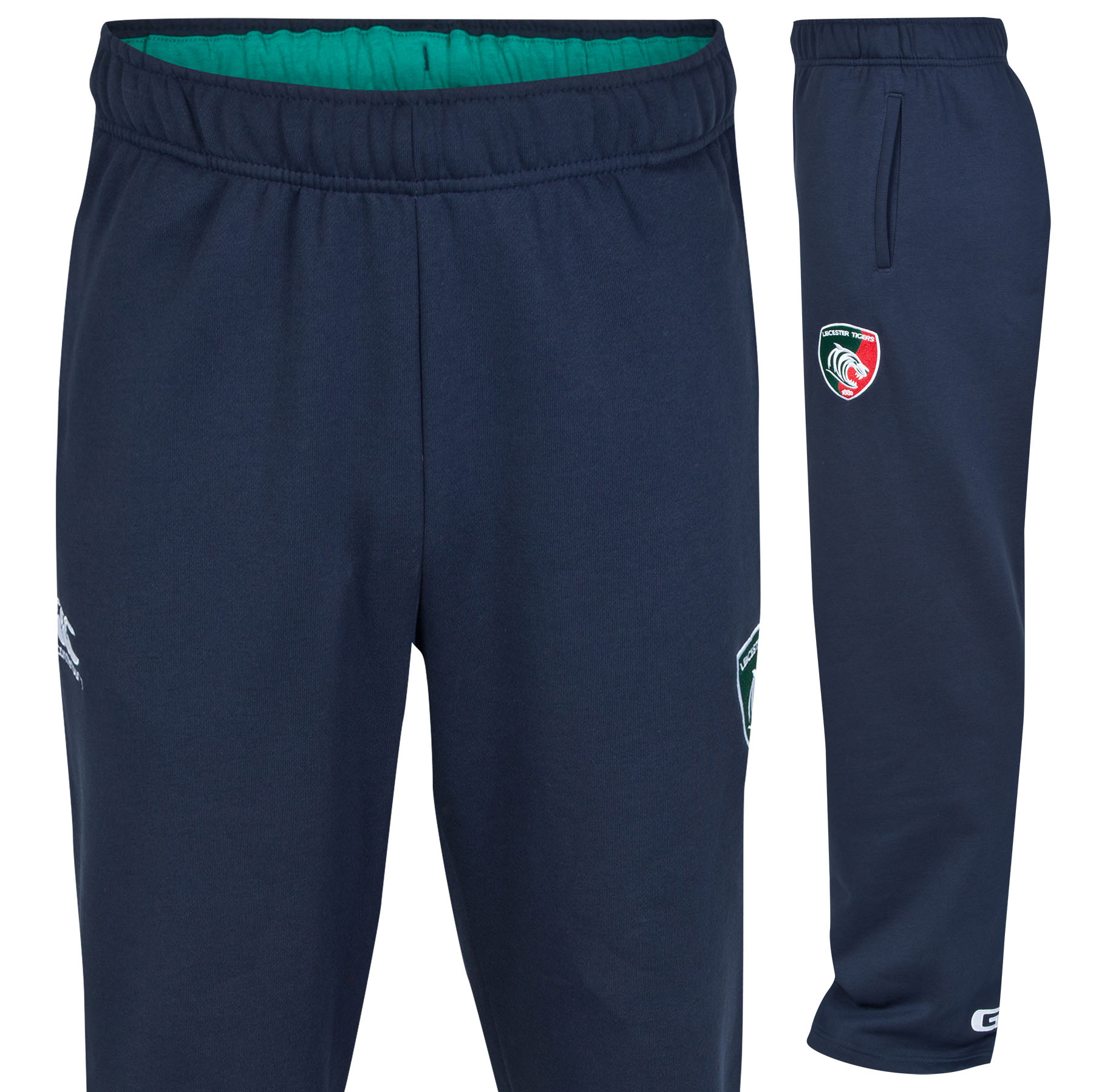 Leicester Tigers Fleece Pant Navy