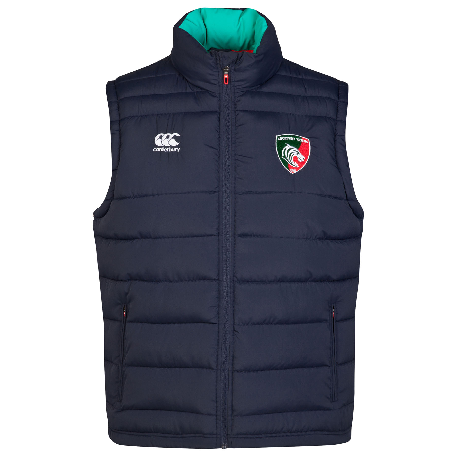 Leicester Tigers Padded Gilet Navy