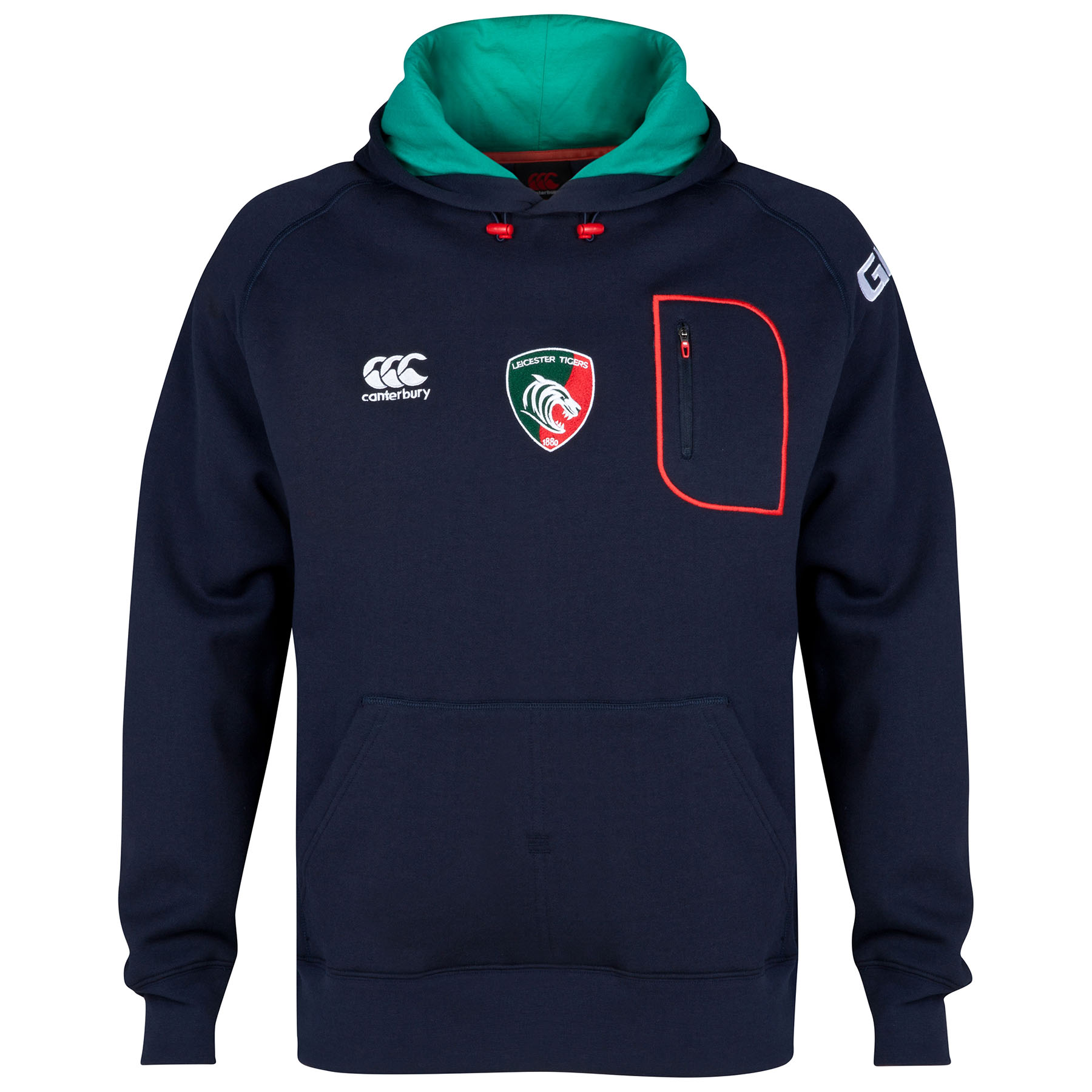 Leicester Tigers Training OTH Hoody - Kids Navy