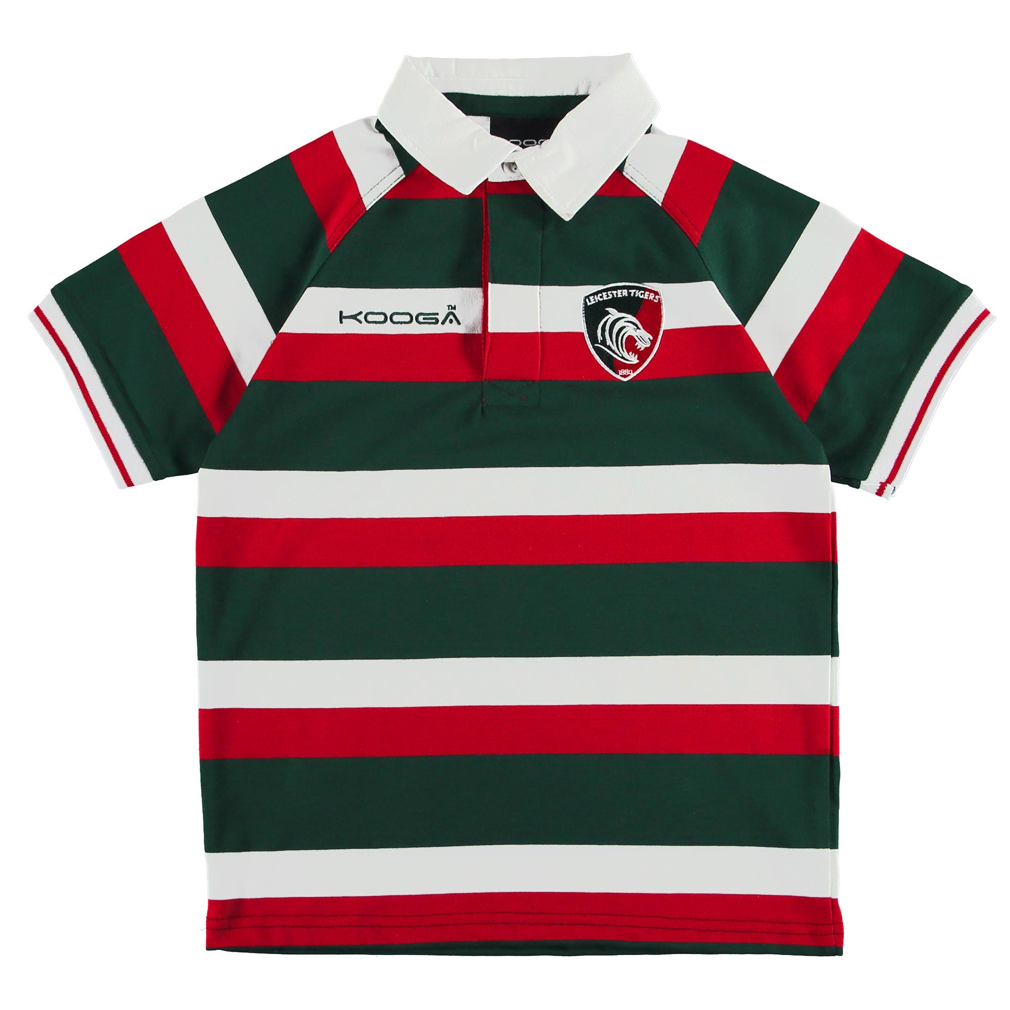 Leicester Tigers Home Classic Jersey Short Sleeve 2016/17 - Junior