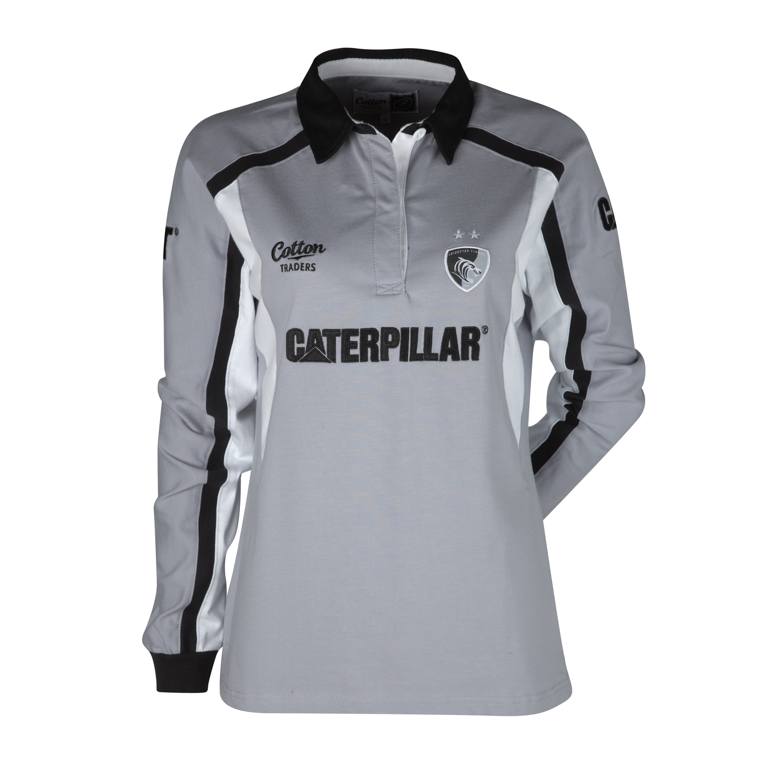 Leicester Tigers Away Shirt 10/12 - Long Sleeved - Womens. for 15€