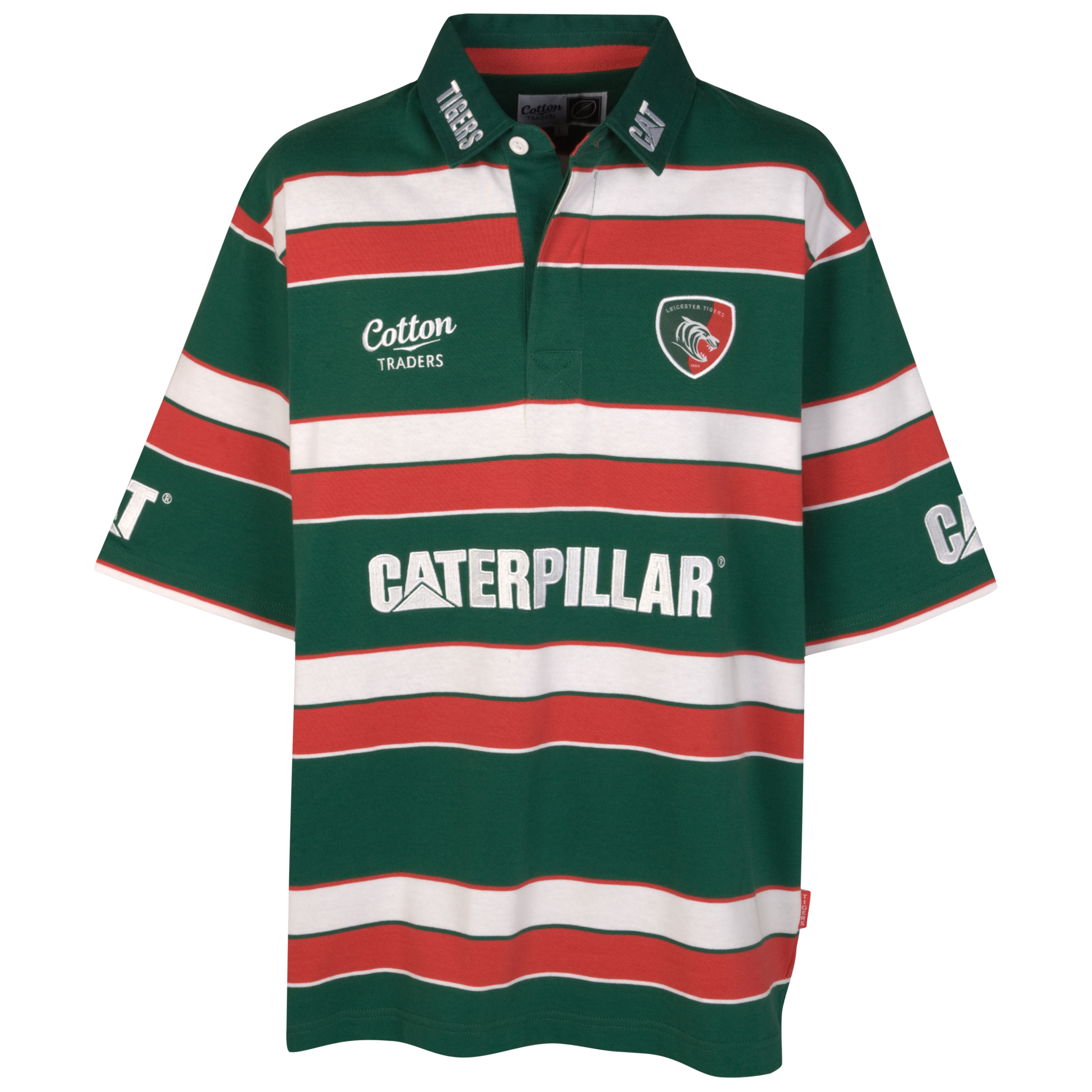 Leicester Tigers Home Shirt  11/12