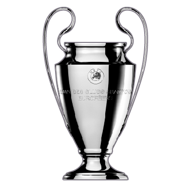 UEFA Champions League Trophy 2D Pin Badge