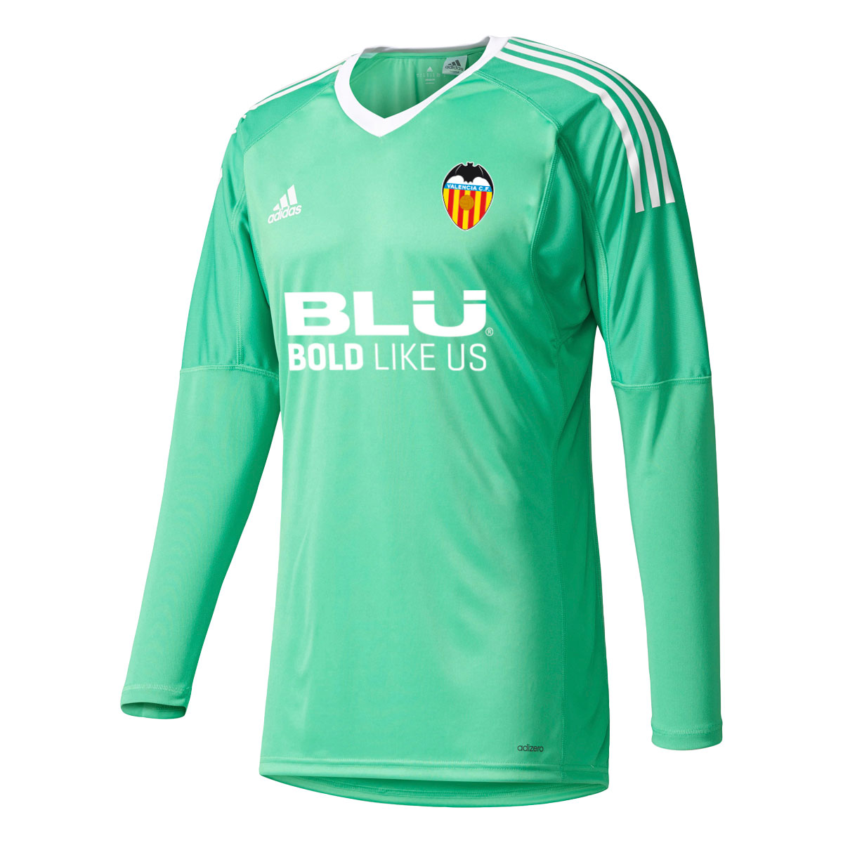 Valencia CF Goalkeeper Shirt 2017-18 - Green - Kids