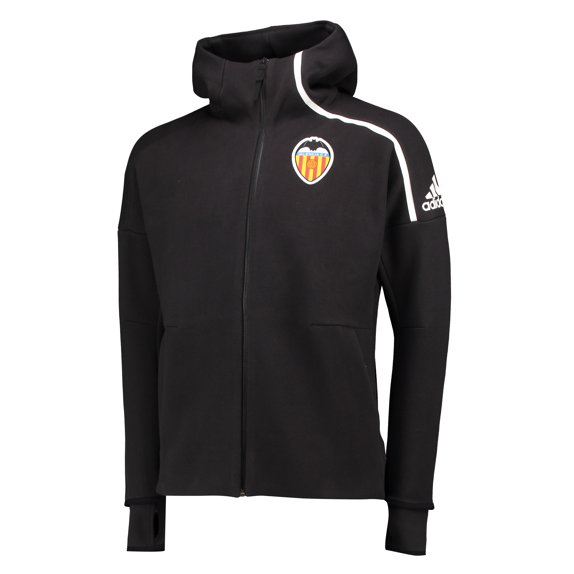 Valencia CF Anthem Jacket - Black/White
