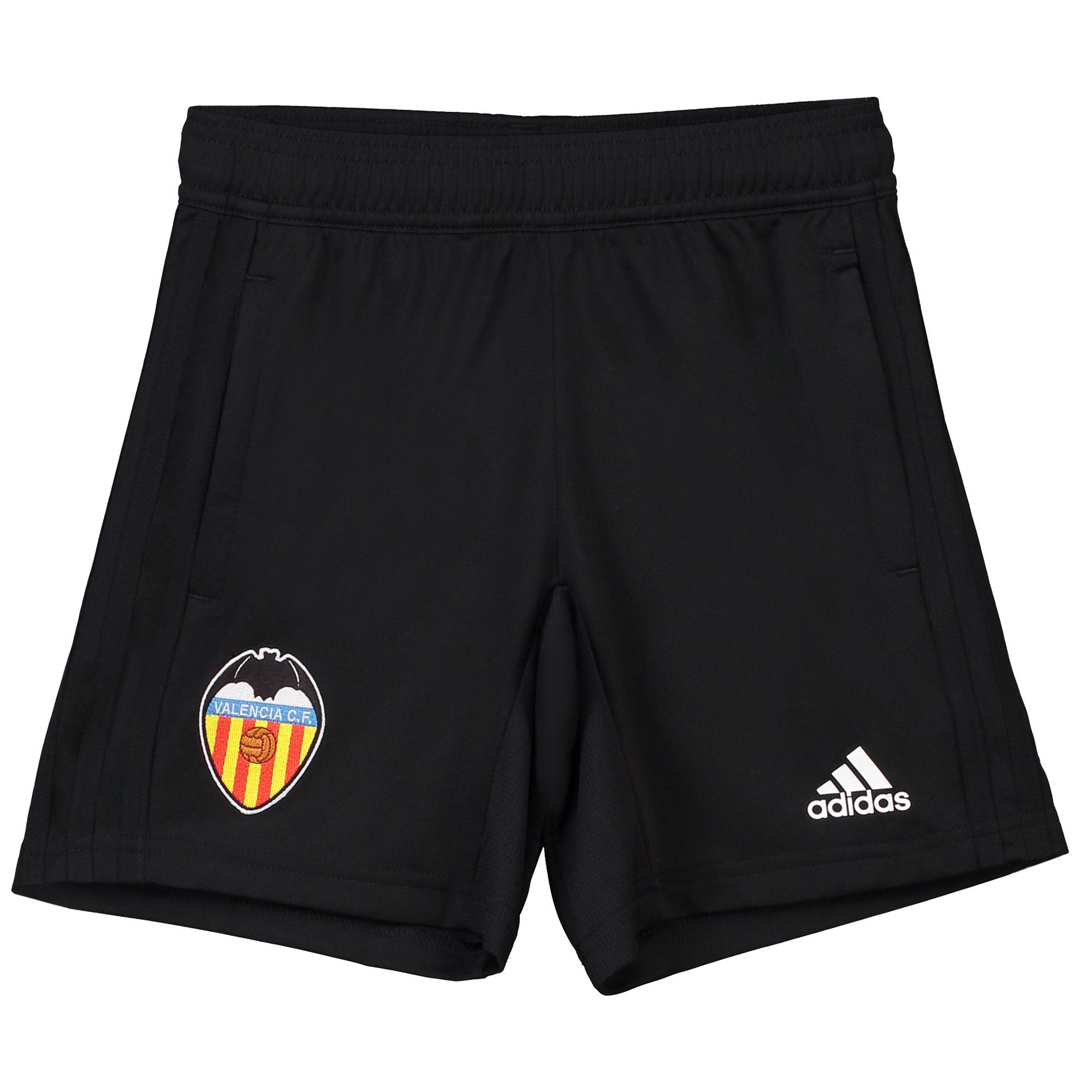 Pantalón corto de entrenamiento del Valencia CF - Negro - Niño
