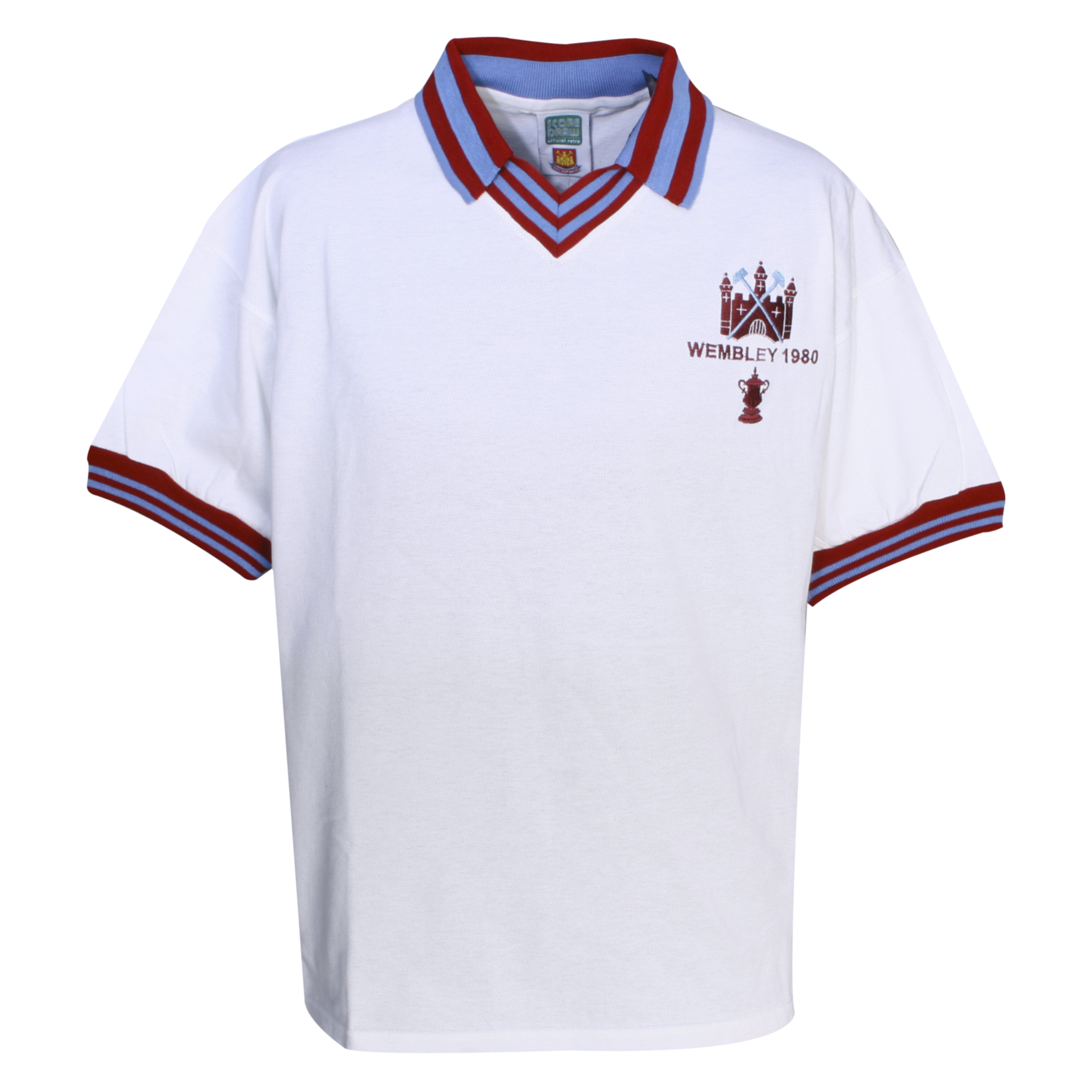 West Ham United 1980 FA Cup Final Shirt  White