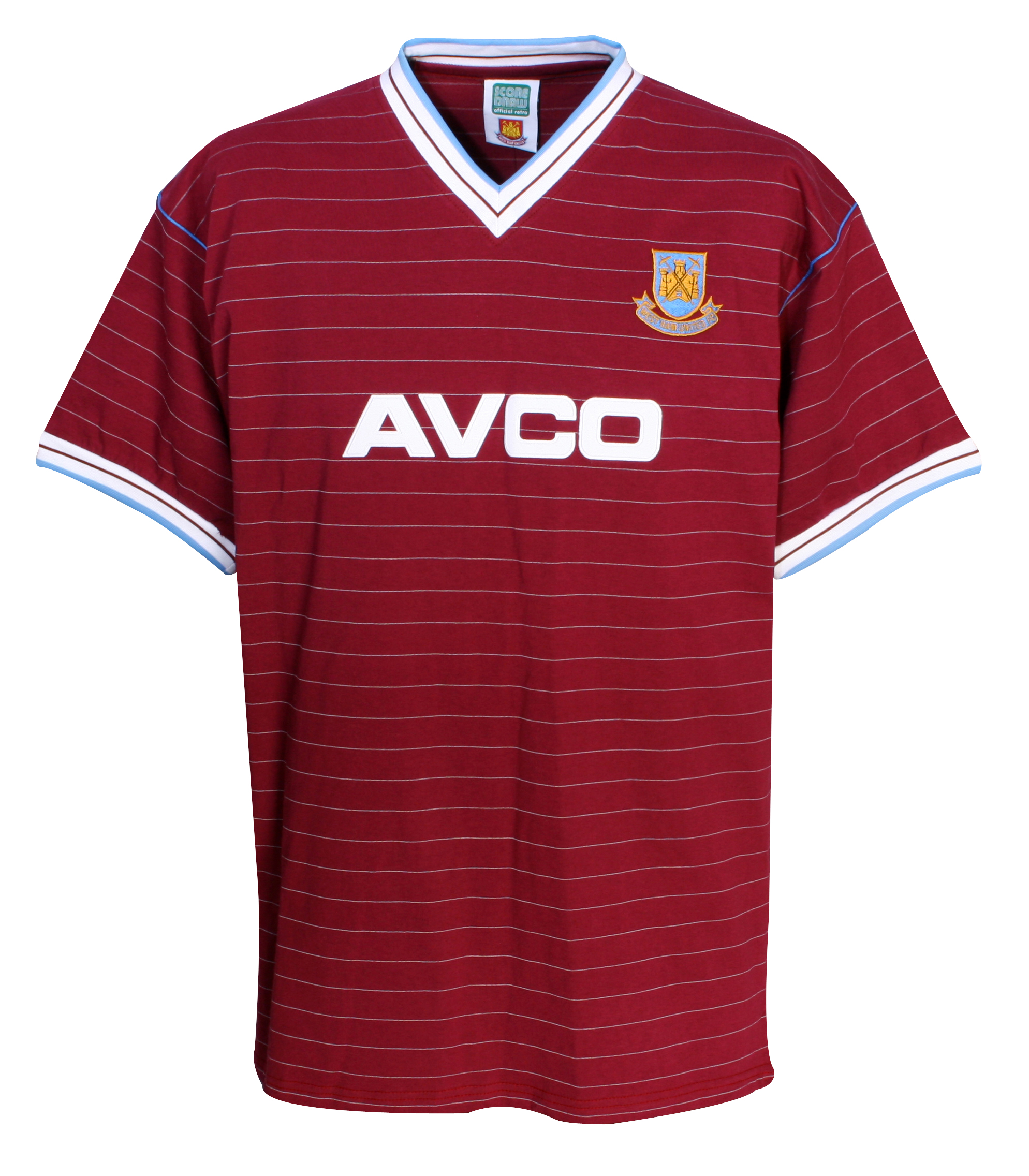 West Ham United 1986 Avco Home Shirt Claret
