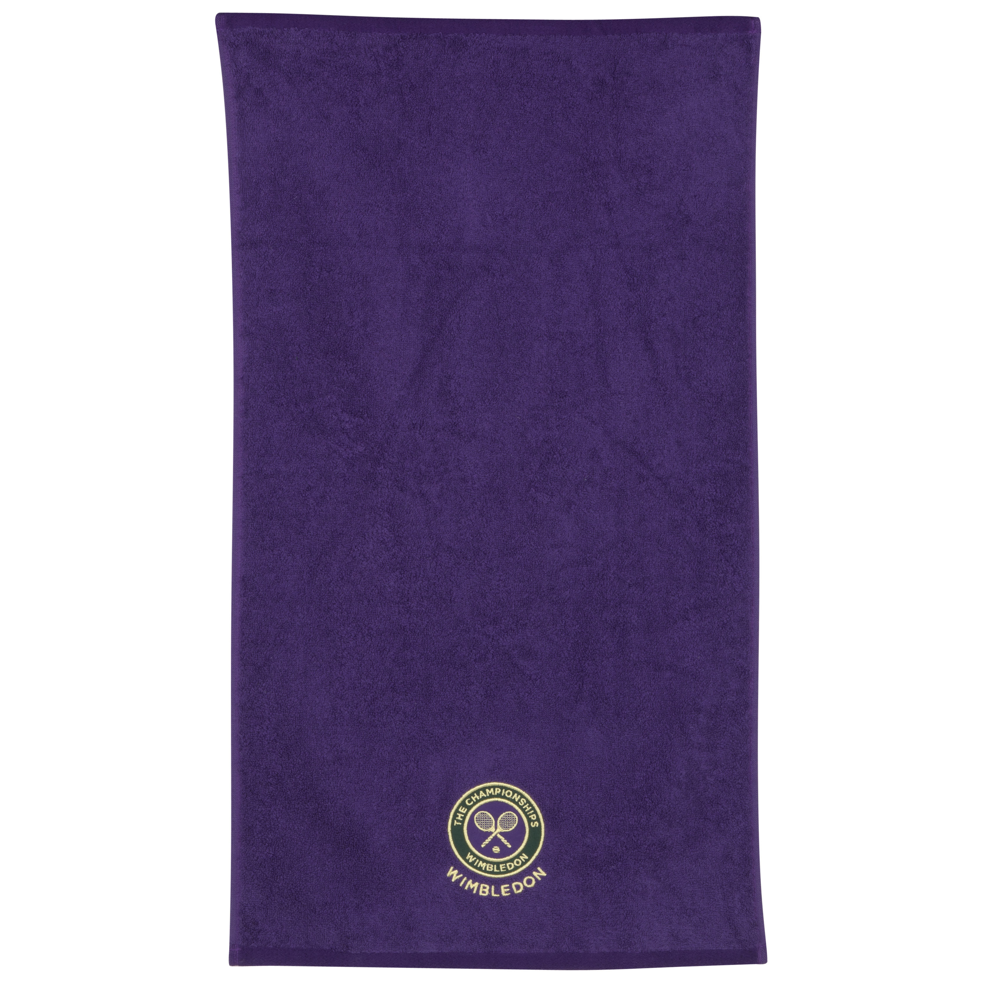 Wimbledon Mens Guest Towel - Purple