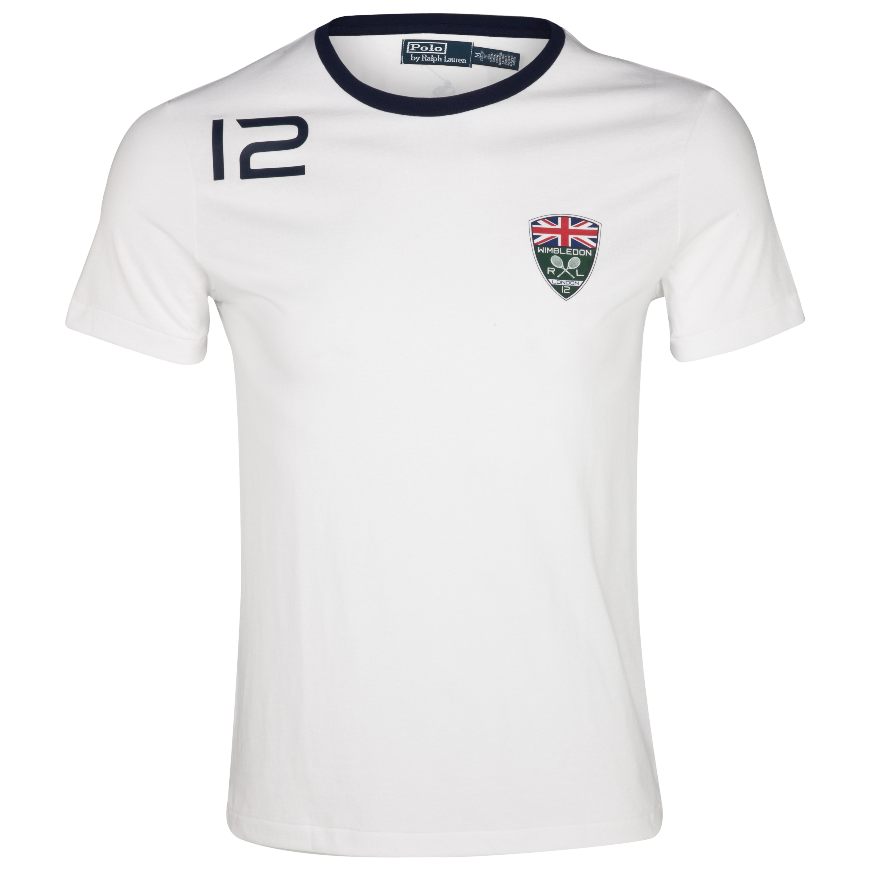 Polo Ralph Lauren Wimbledon Jersey T-Shirt - White