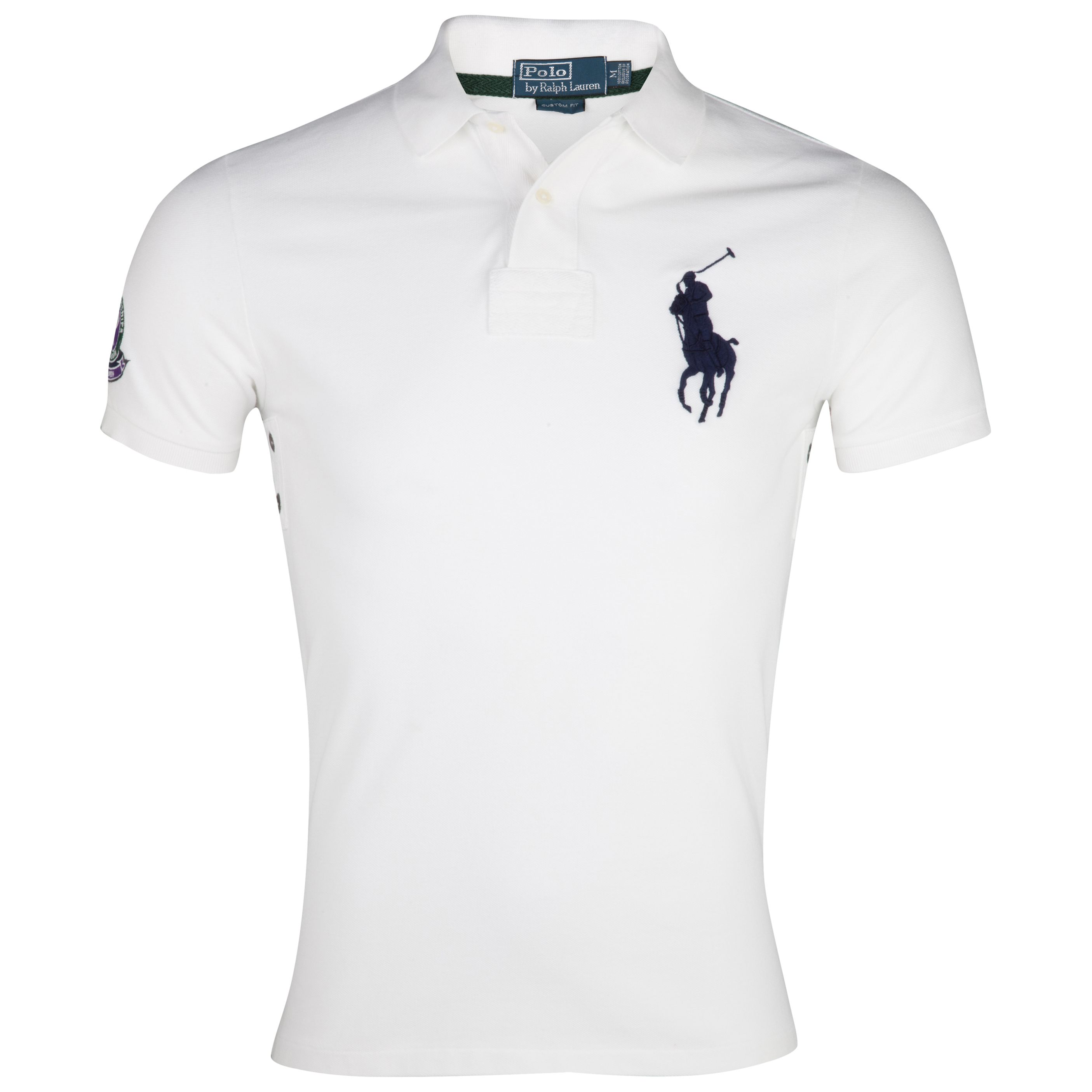 Polo Ralph Lauren Wimbledon Short Sleeve Polo - White
