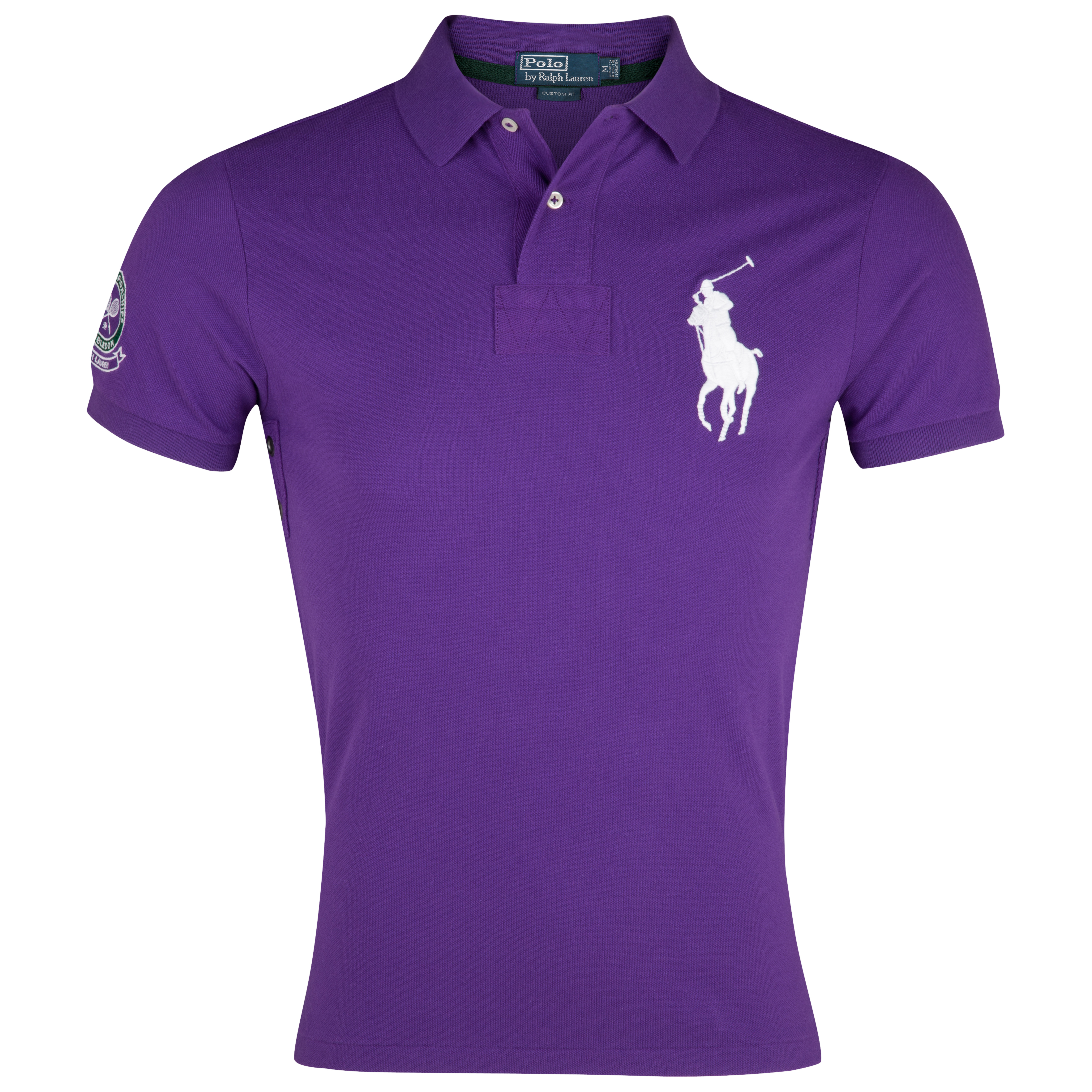 Polo Ralph Lauren Wimbledon Short Sleeve Polo - Empire Purple