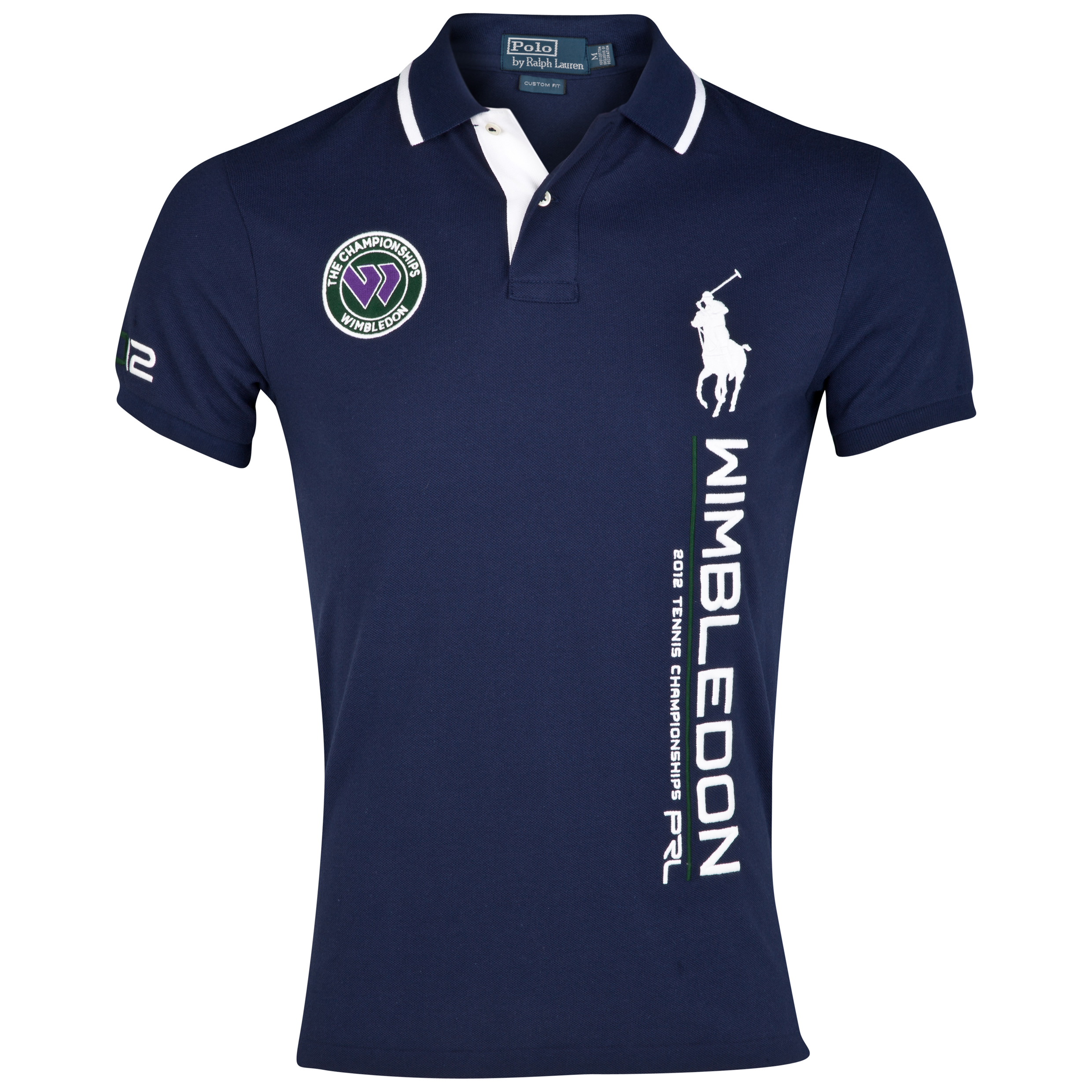 Polo Ralph Lauren Wimbledon Short Sleeve Polo - French Navy