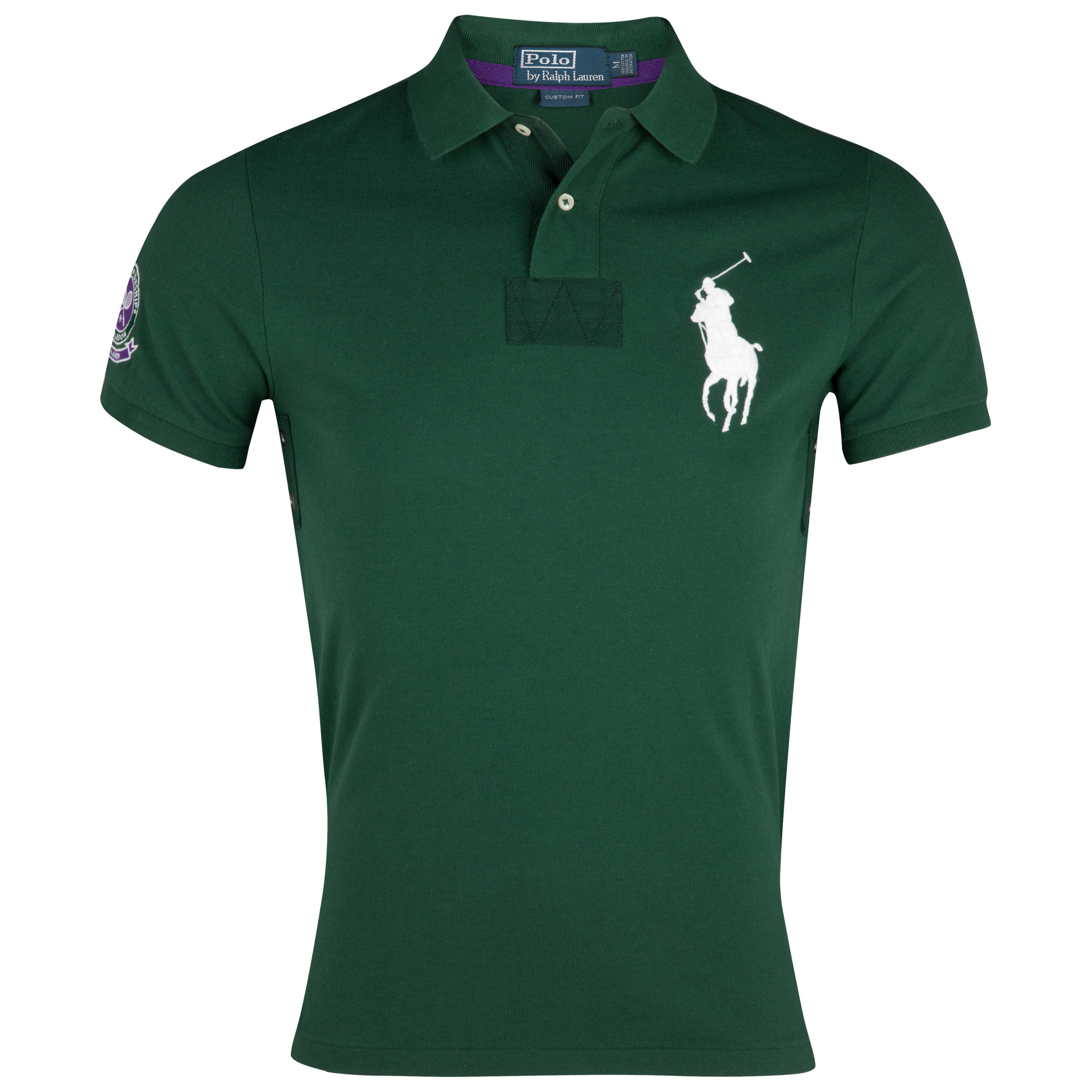 Polo Ralph Lauren Wimbledon  Short Sleeve Polo - Northwest Pine