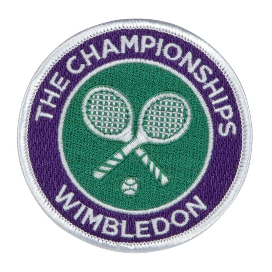 Wimbledon Woven Badge
