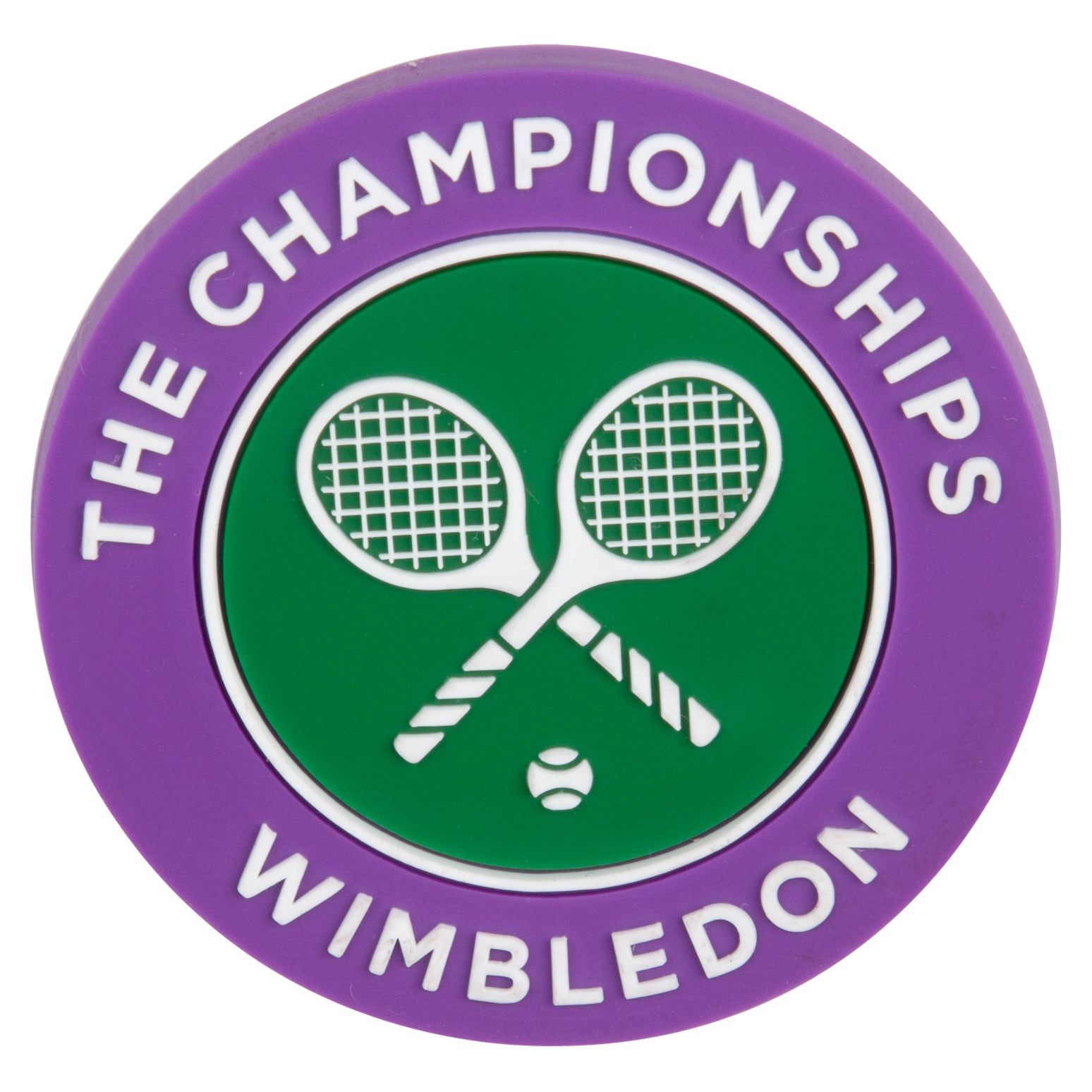 Wimbledon Crossed Rackets Magnet