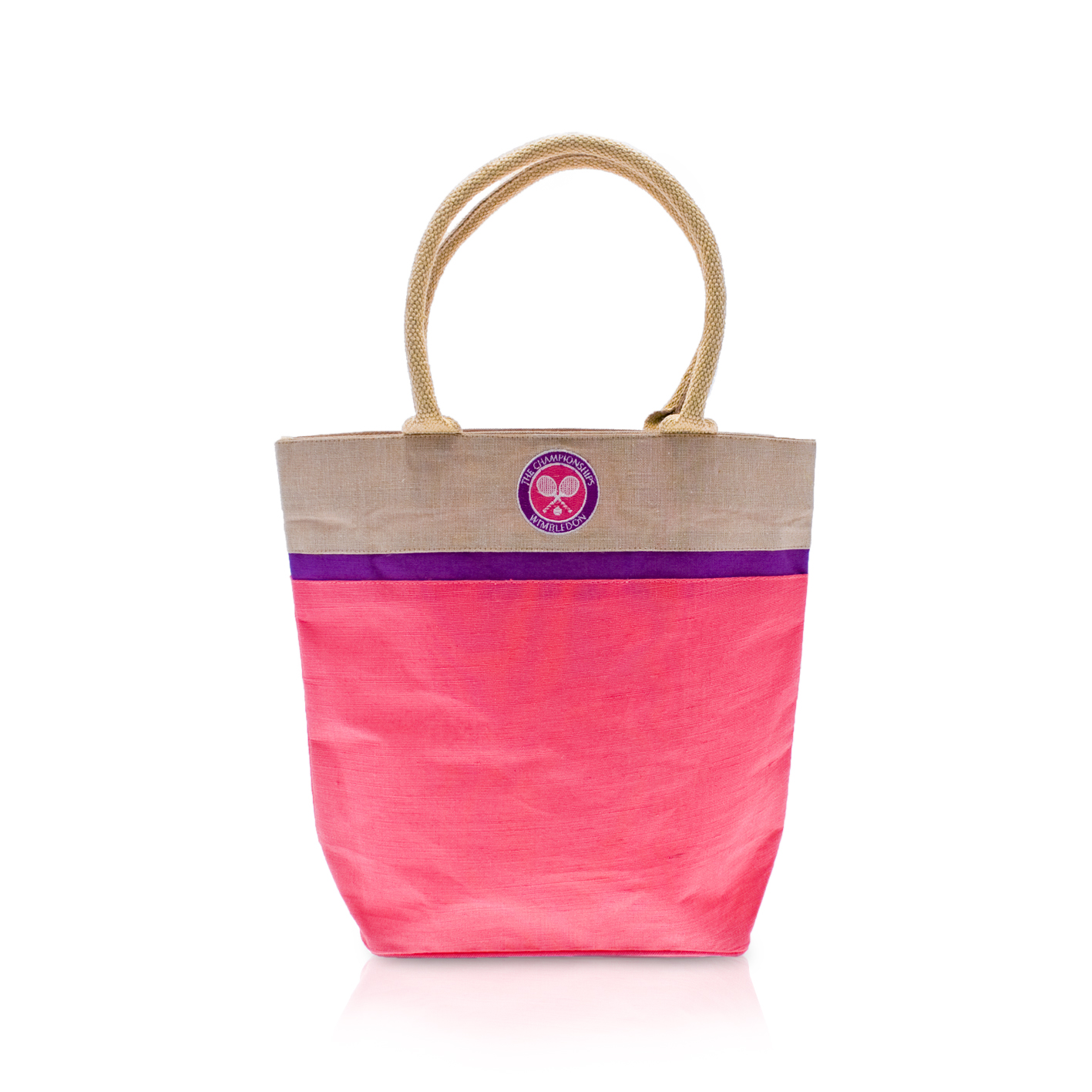 Wimbledon Juco Tote - Pink