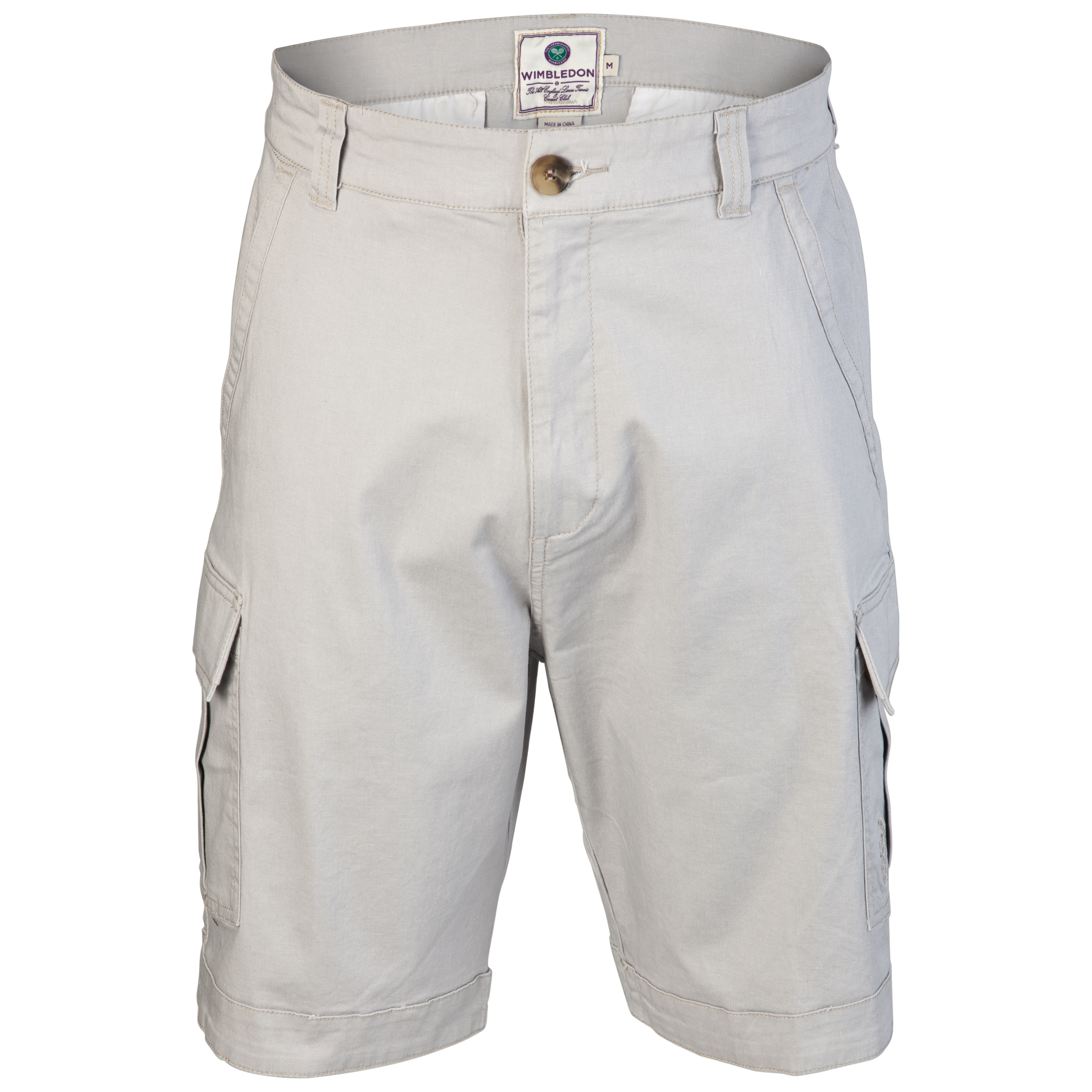 Wimbledon Casual Shorts - Light Grey