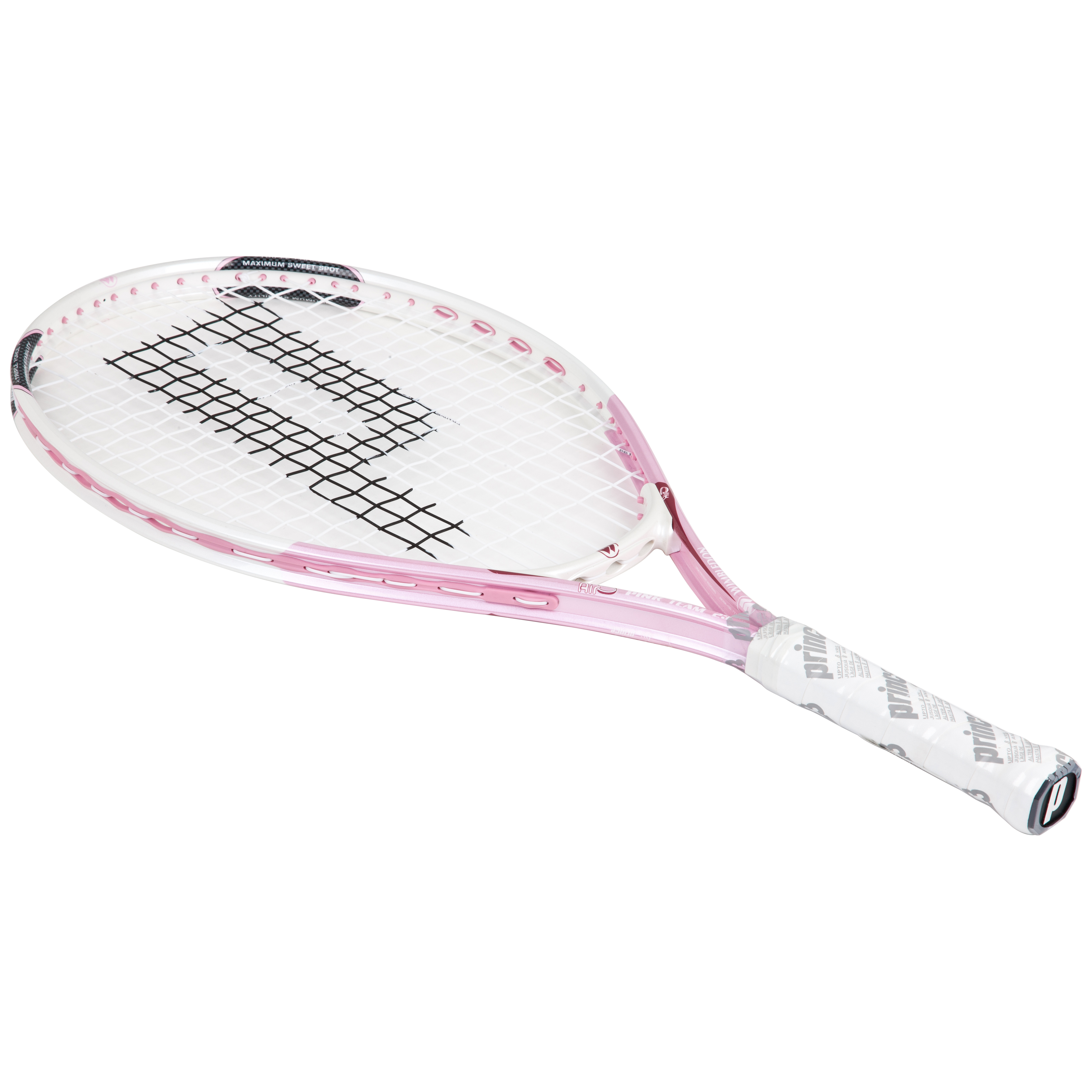 Wimbledon By Prince Airo Pink Team 23 Tennis Racket - White/Pink