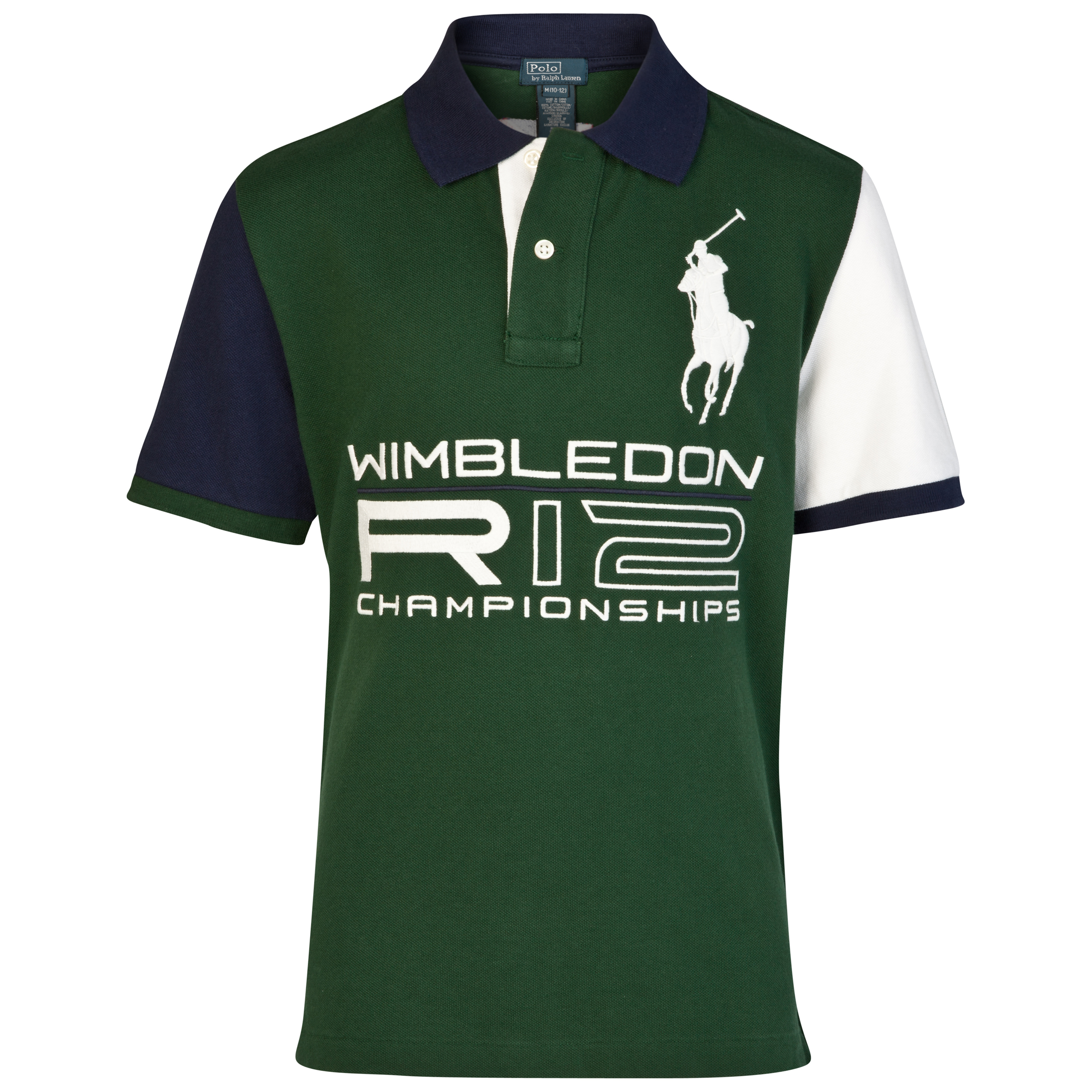 Polo Ralph Lauren Wimbledon Big PP Mesh Polo - Northwest Pine - Boys