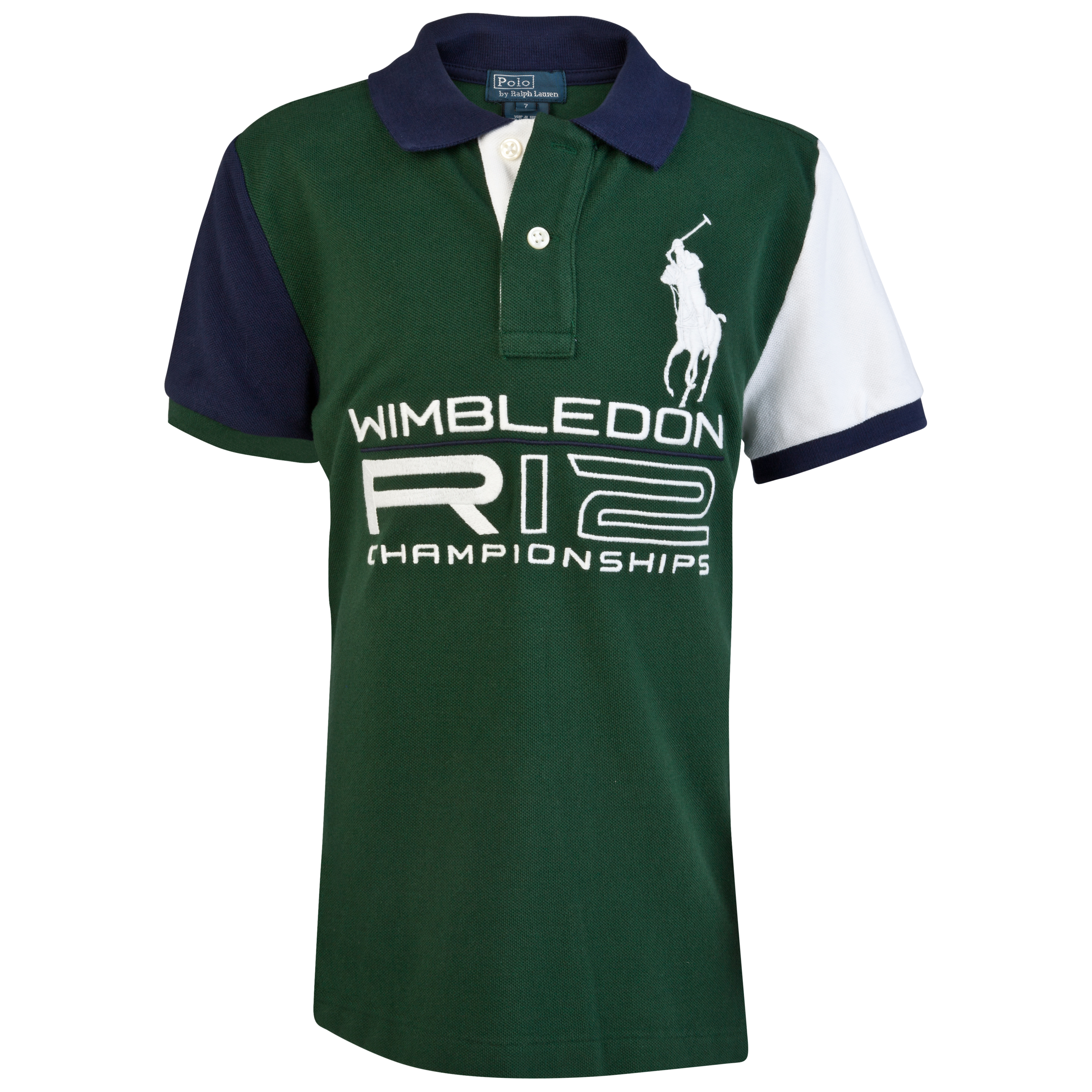 Polo Ralph Lauren Wimbledon Big PP Mesh Polo - Northwest Pine - Infant Girls