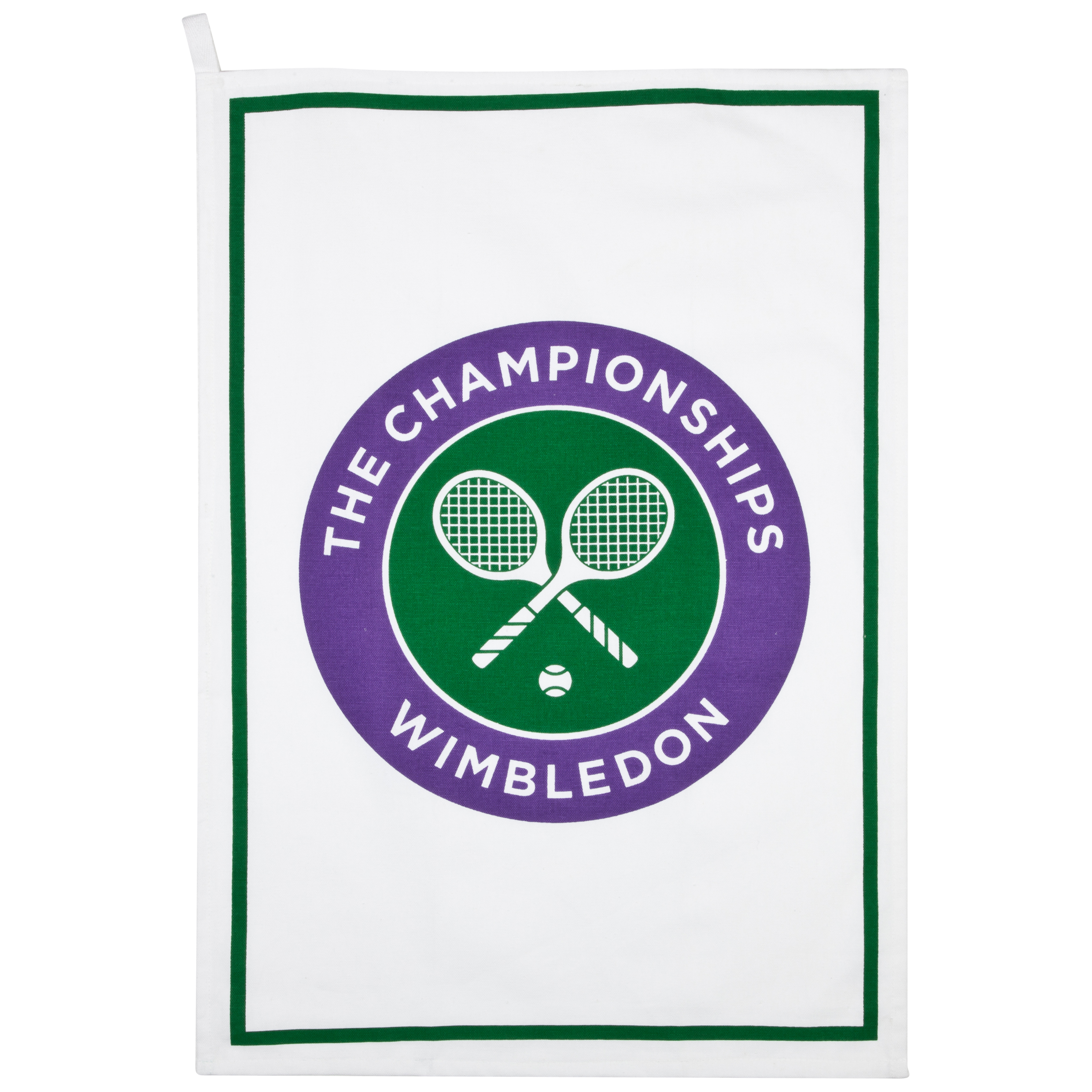 Wimbledon Logo Tea Towel - Full Colour Logo