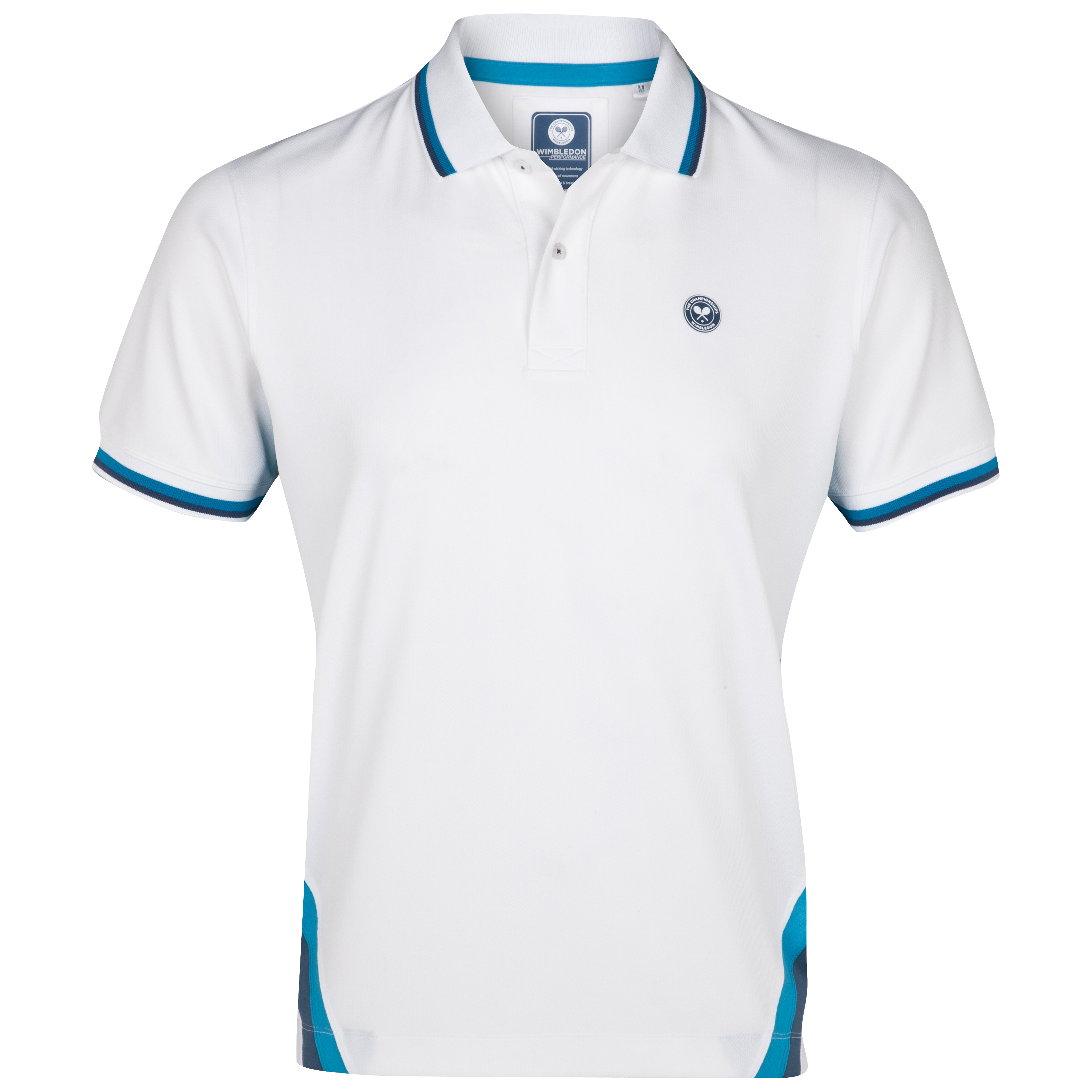 Wimbledon Player Polo Shirt - White